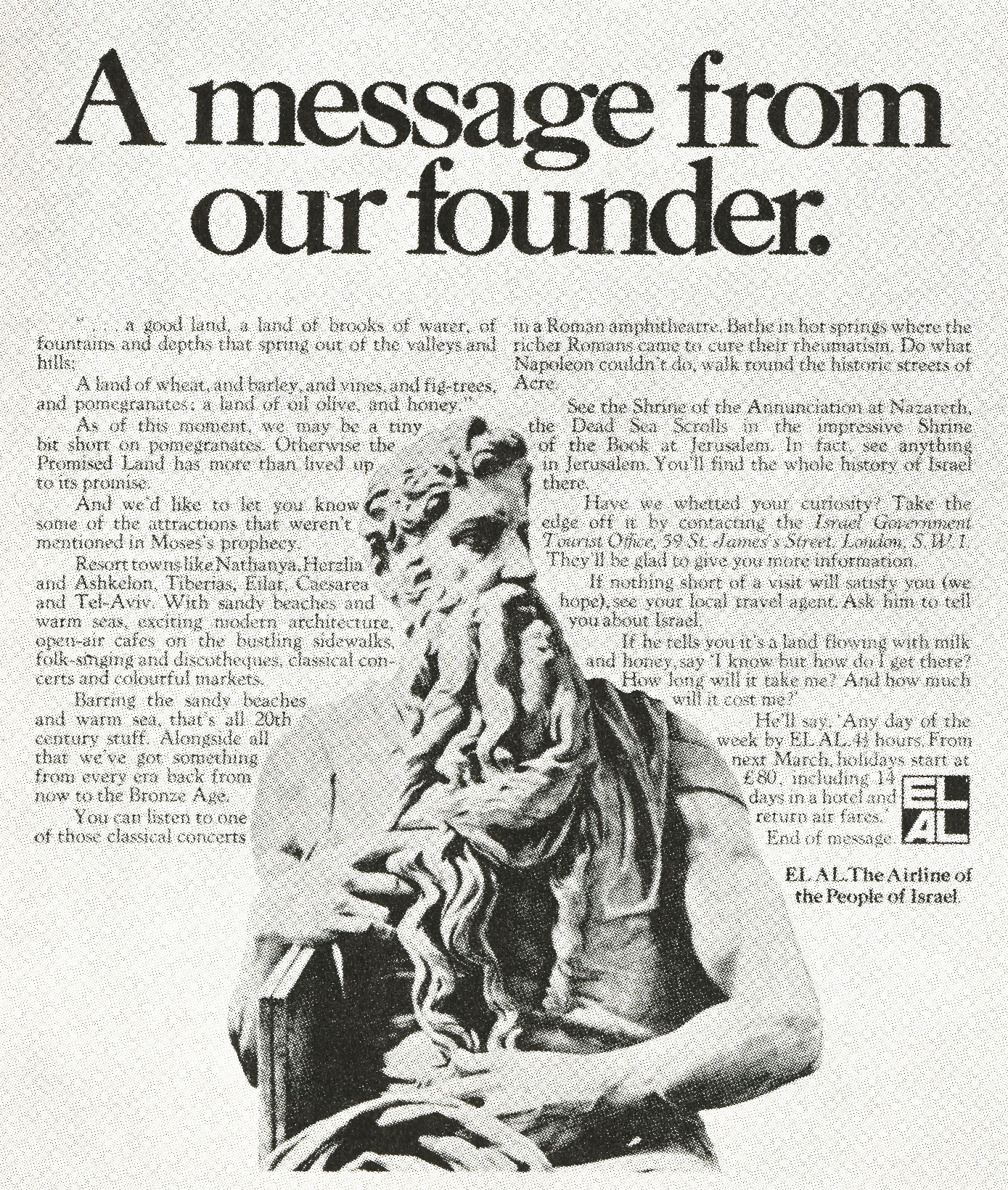 El Al 'Founder', John Hegarty, John Collings-01
