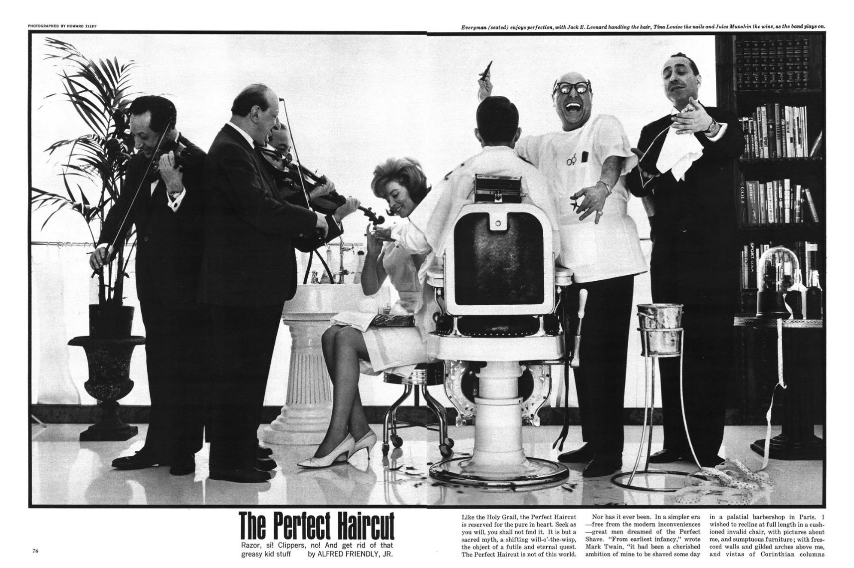 Howard Zieff 'The Perfect Haircut', Esquire