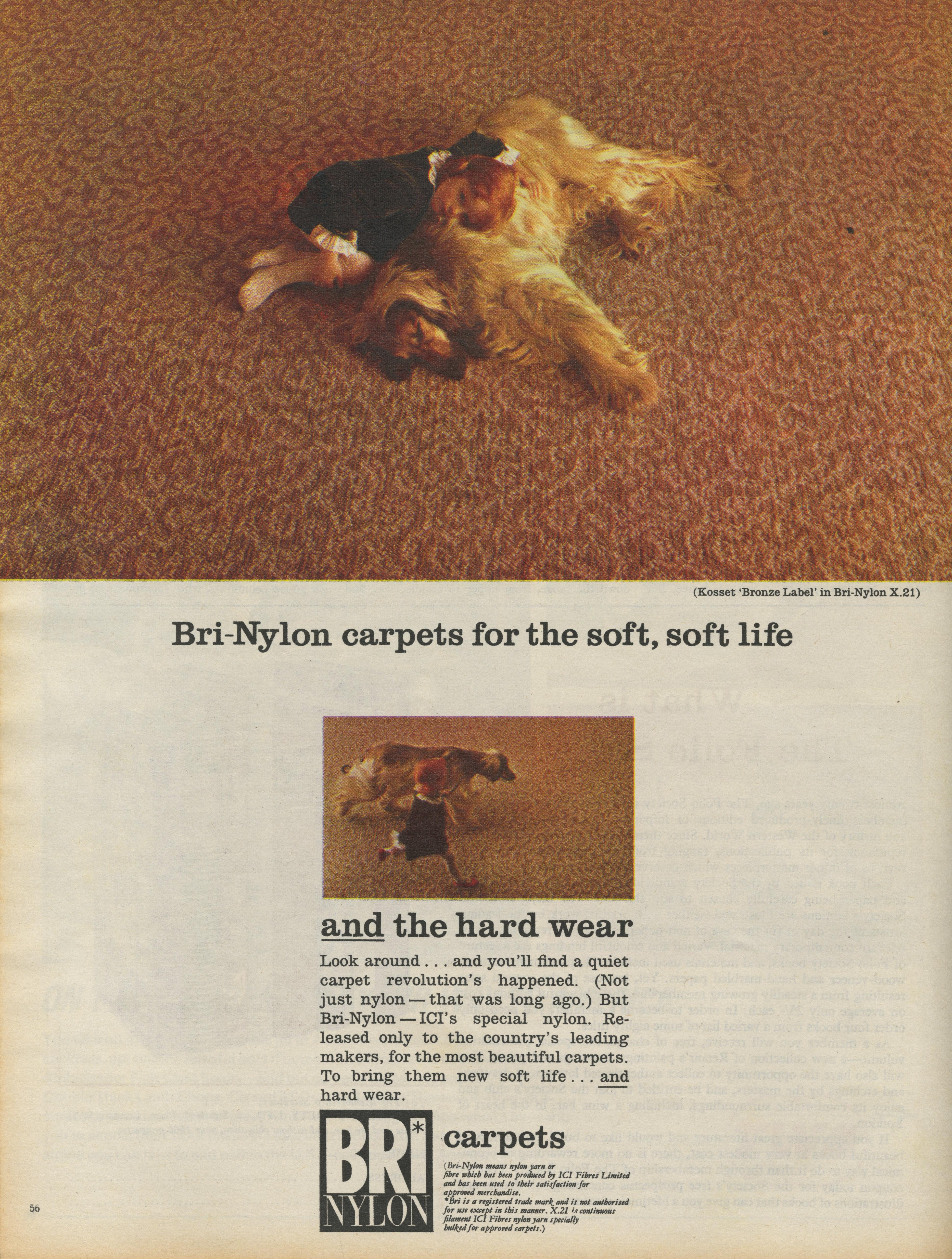 Bri Nylon Carpets 'Dog', KMP-01