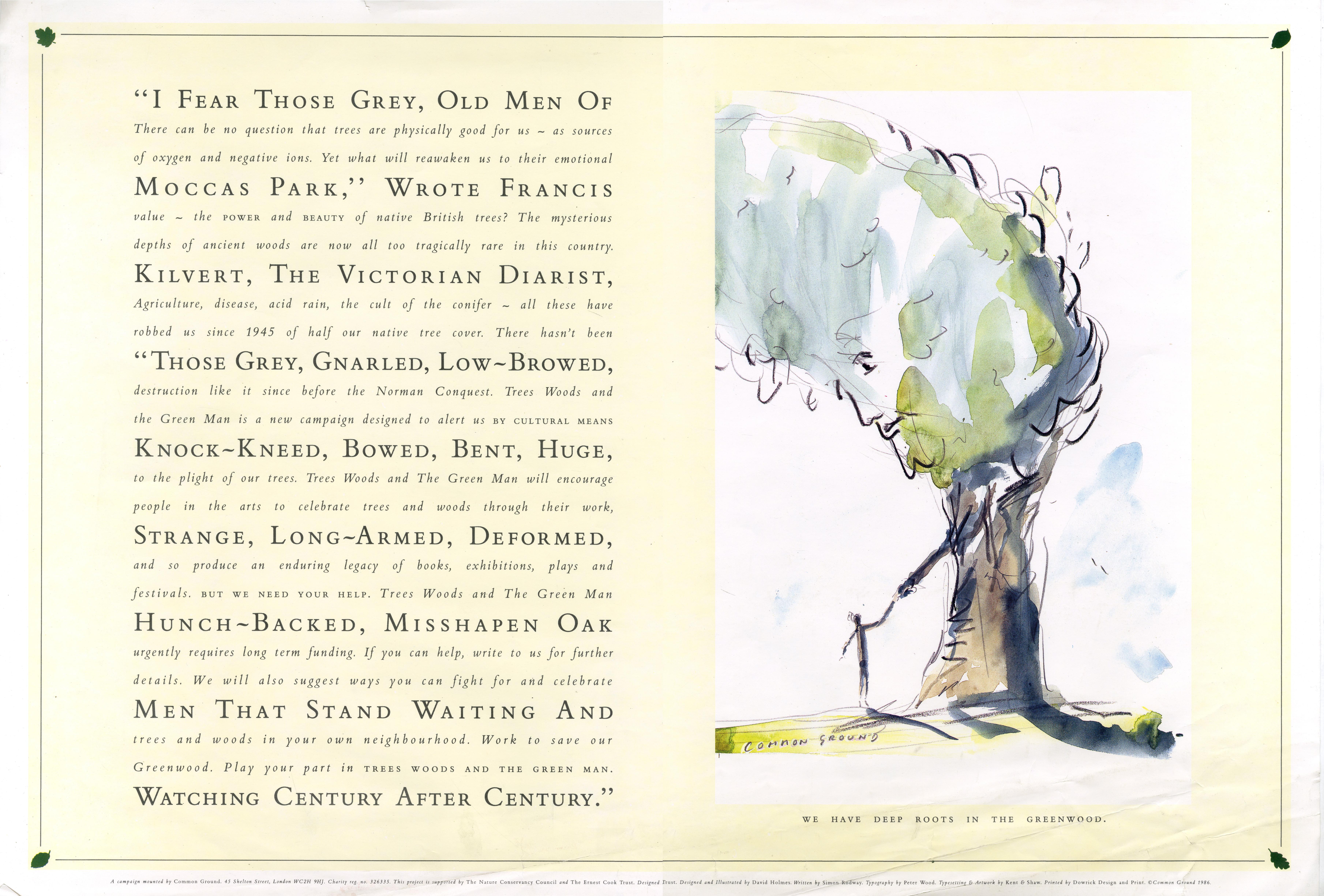 Common Ground 'Tree',  Holmes, HKR-01