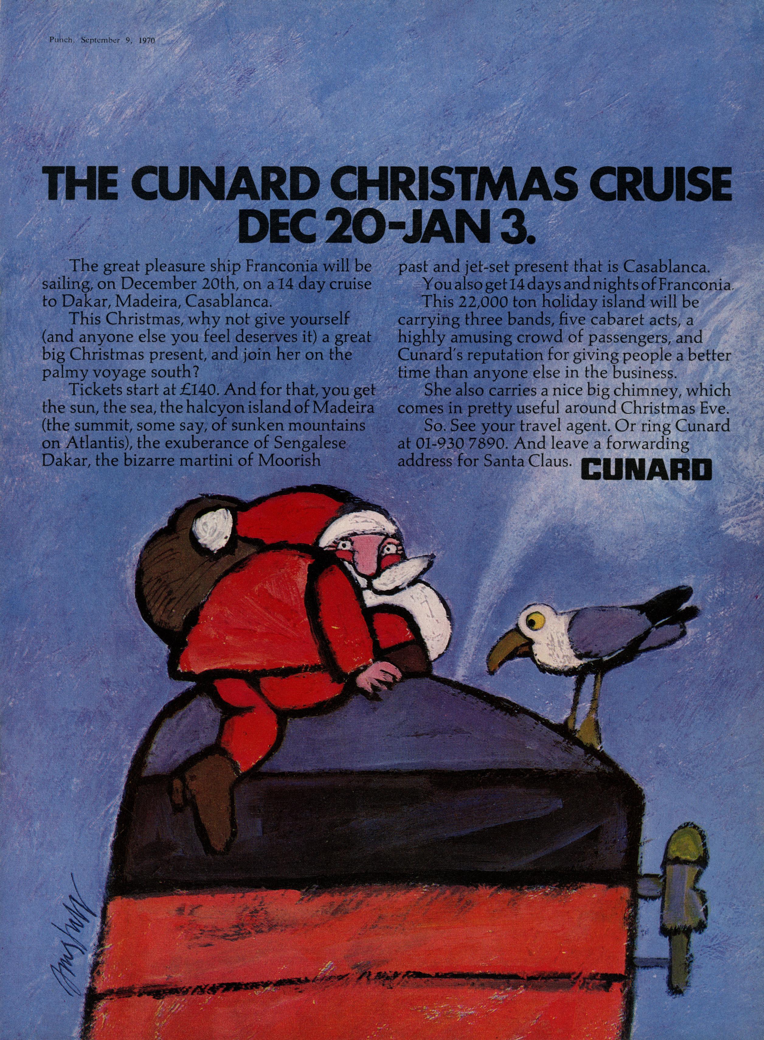 Cunard 'Christmas', KMP-01