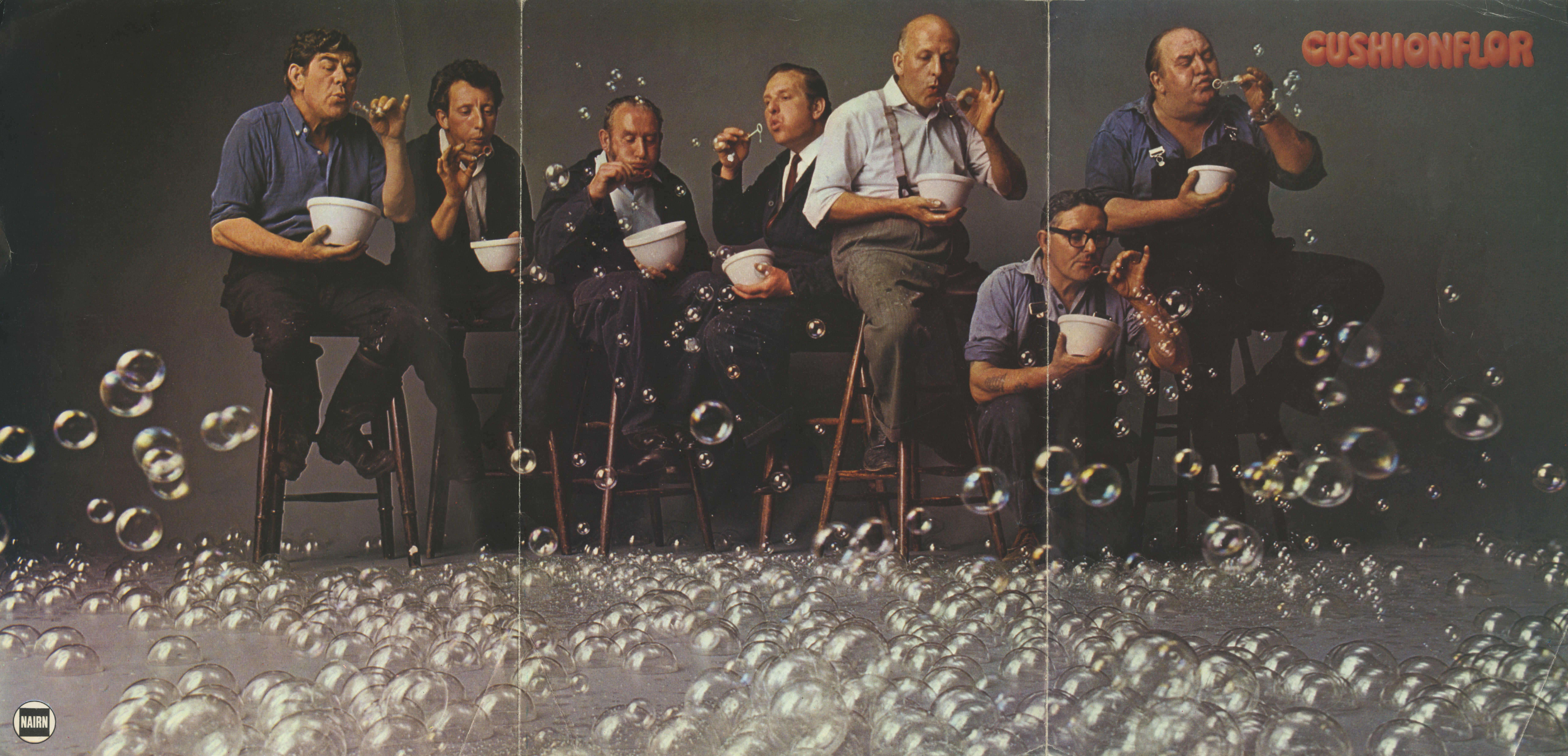 Cushionair 'Bubbles', David Holmes, KMP-01