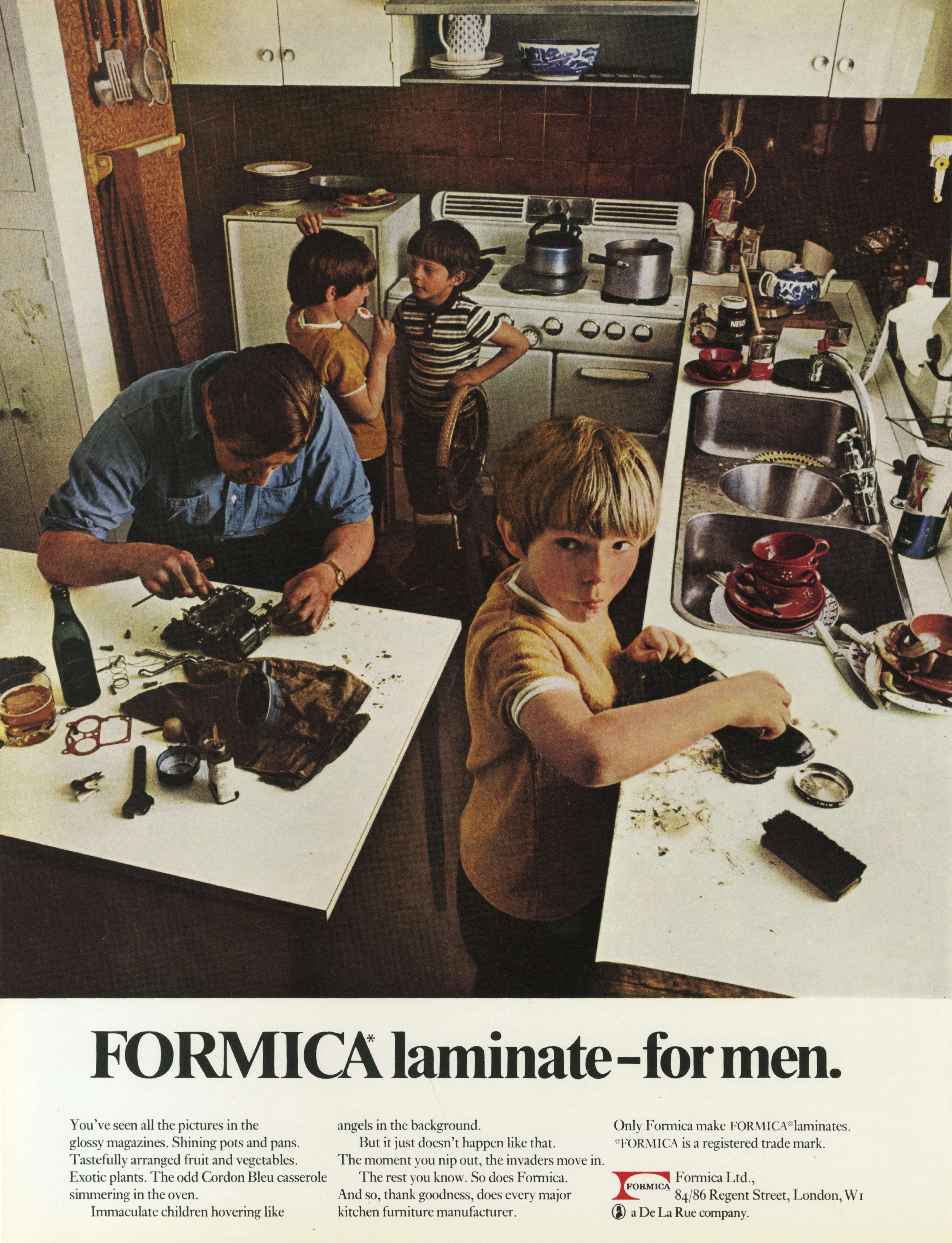 Formica 'For Men', David Holmes, KMP-01