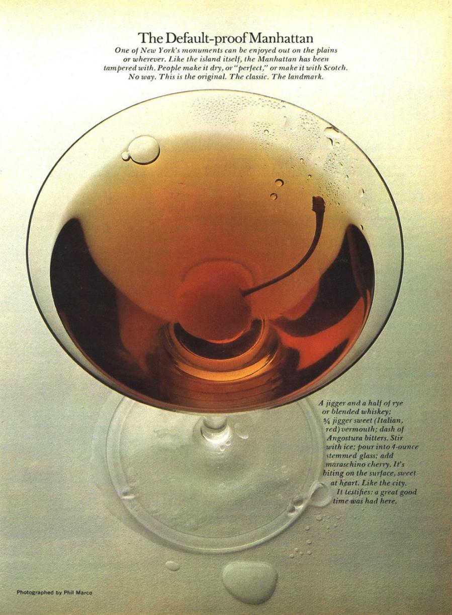 Phil Marco 'Cocktail', Esquire