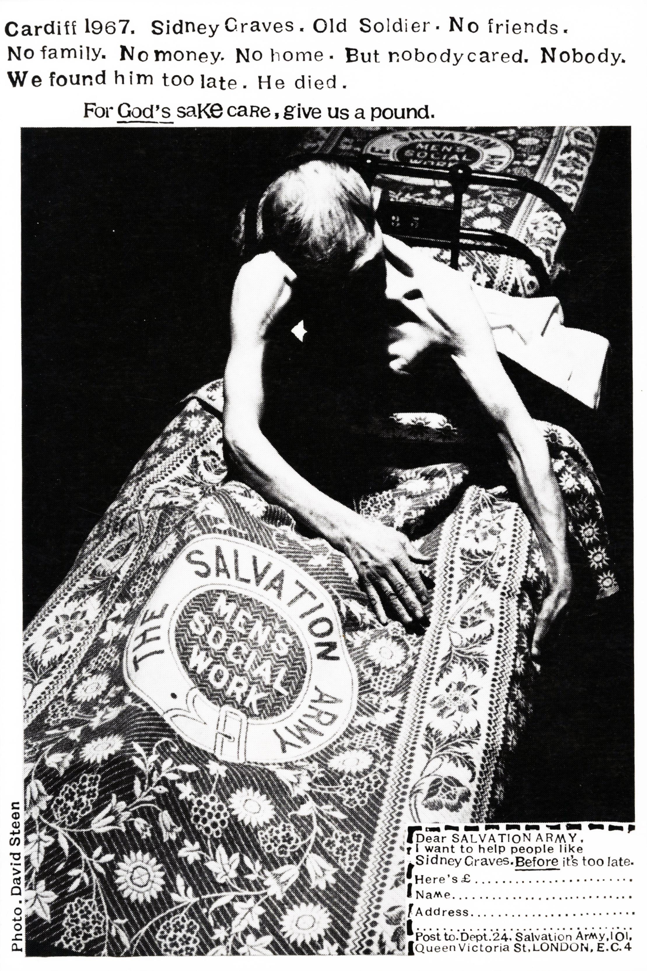 Salvation Army 'Blanket*', David Holmes, KMP-01