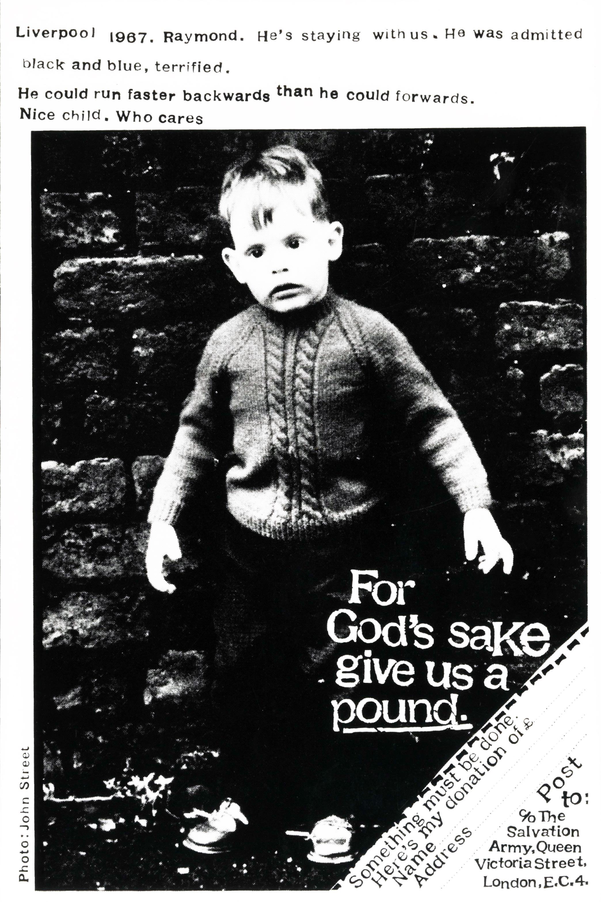 Salvation Army 'Raymond*', David Holmes, KMP-01