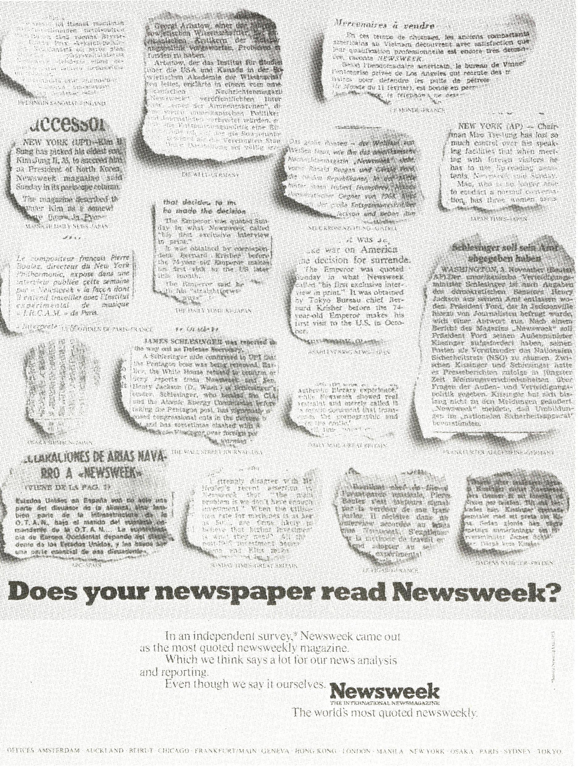 'Does Your Newspaper'How Is China' Newsweek, John Hegarty, TBWA-01.jpg