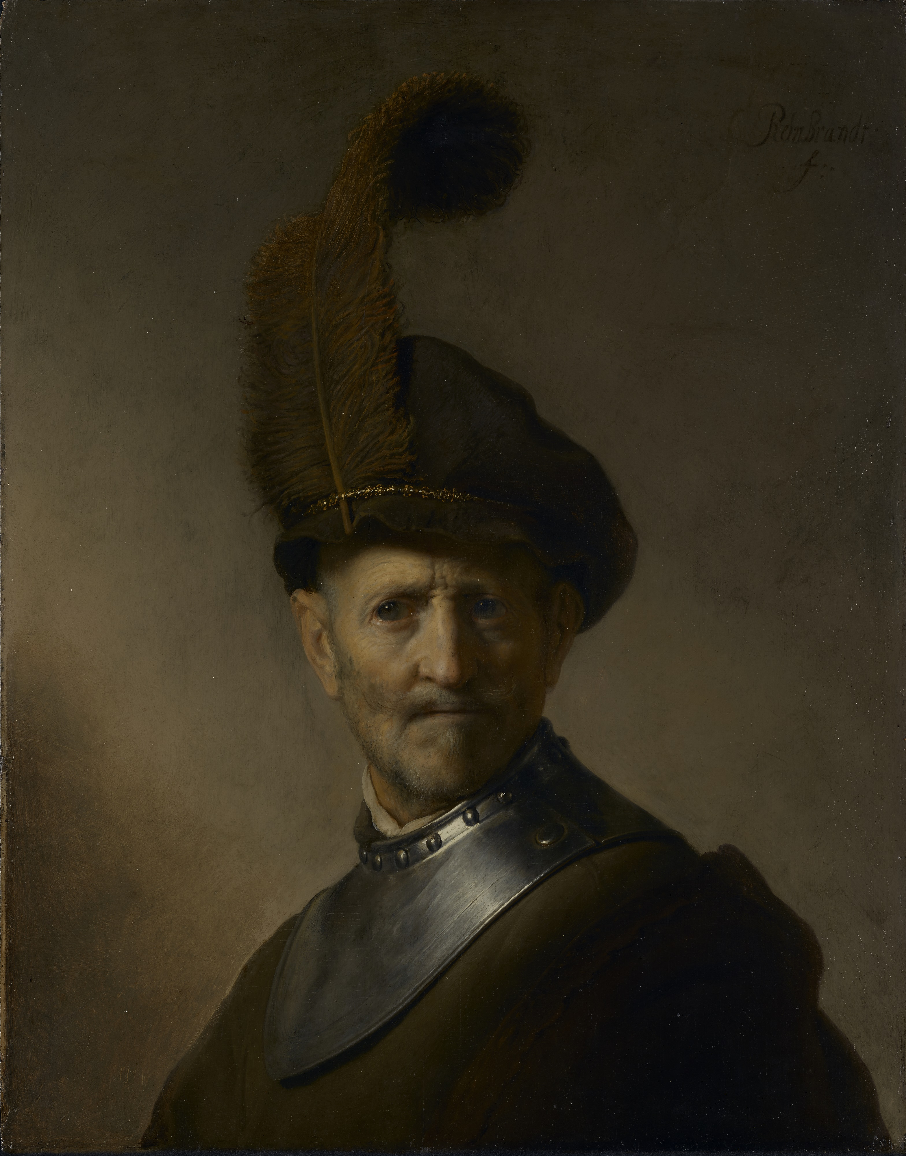'An Old Man in Military Costume' Rembrandt.jpg