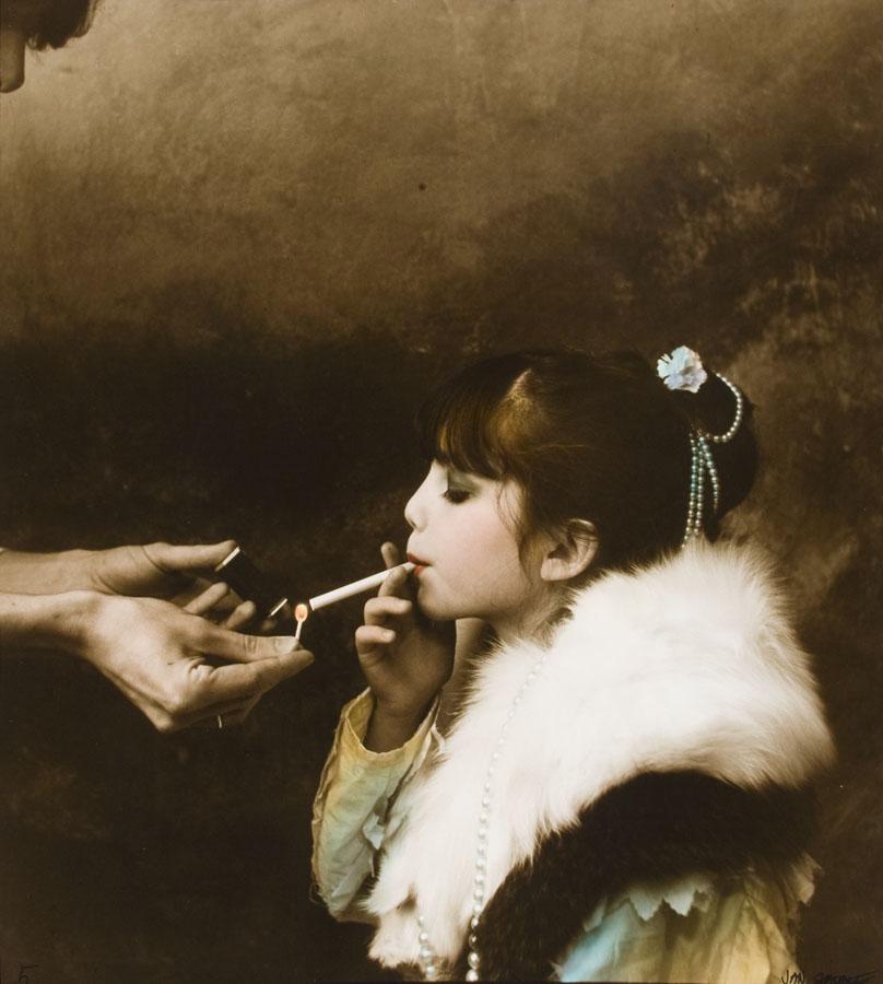 'Cigarette' Jan Saudek.jpg