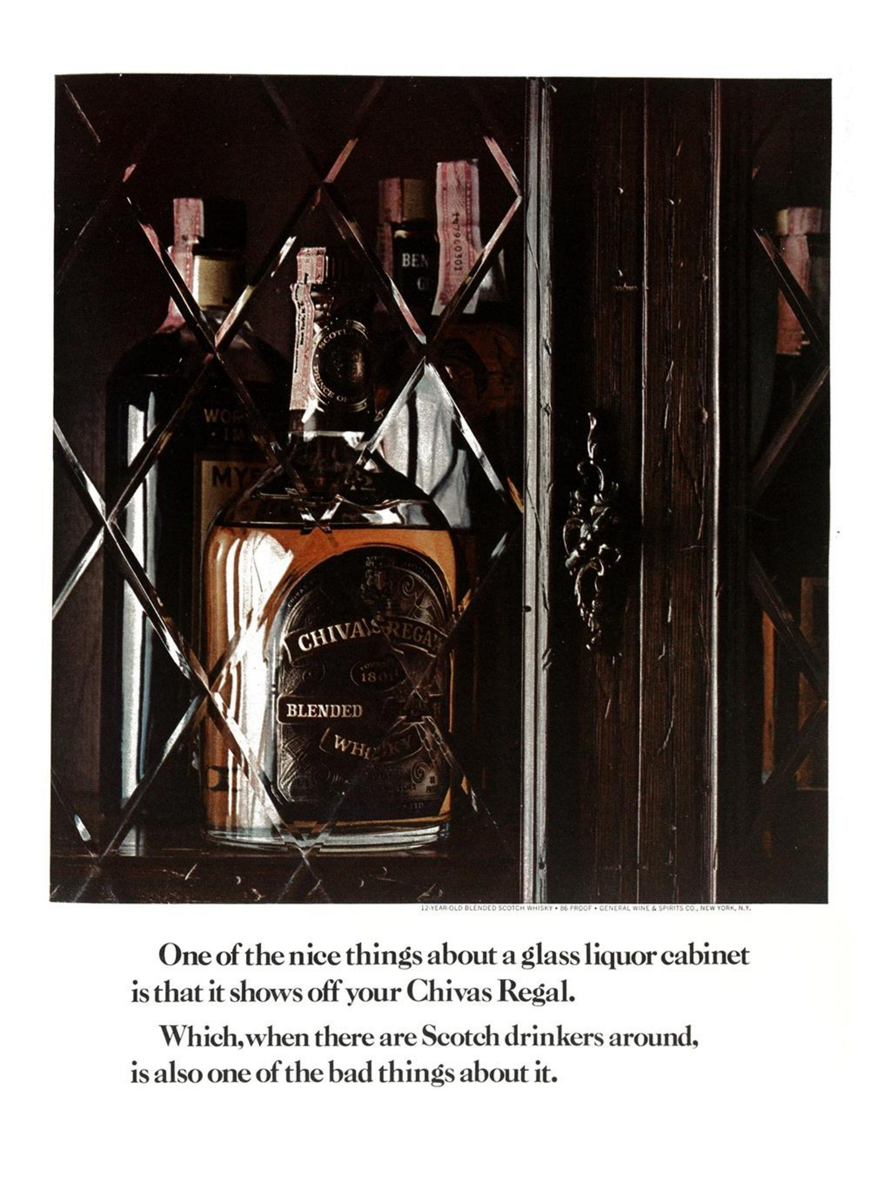 6. 'One Of The Nice' Chivas Regal, DDB NY (Esquire)