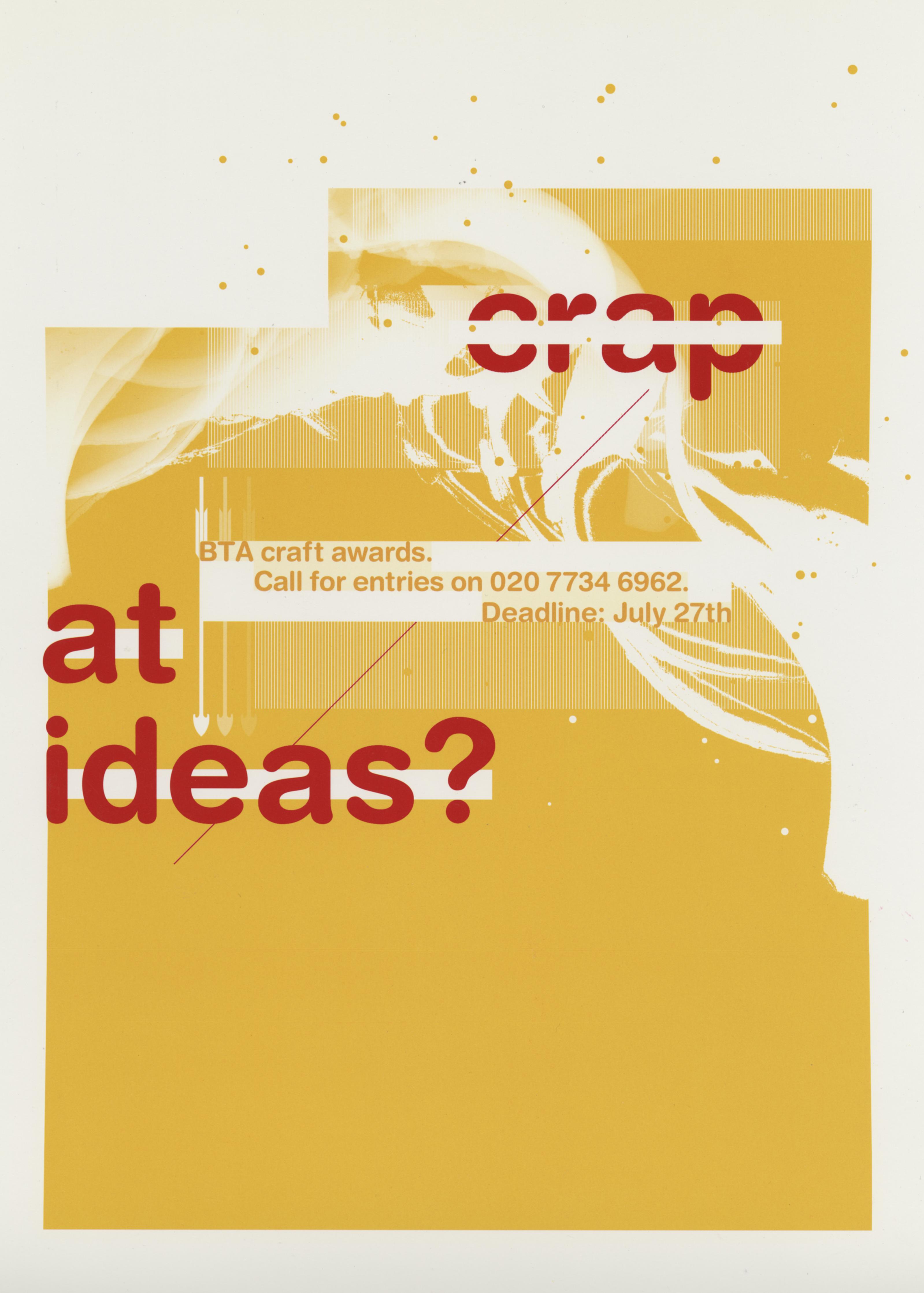 BTA Awards, 'Crap At Ideas?'.jpg