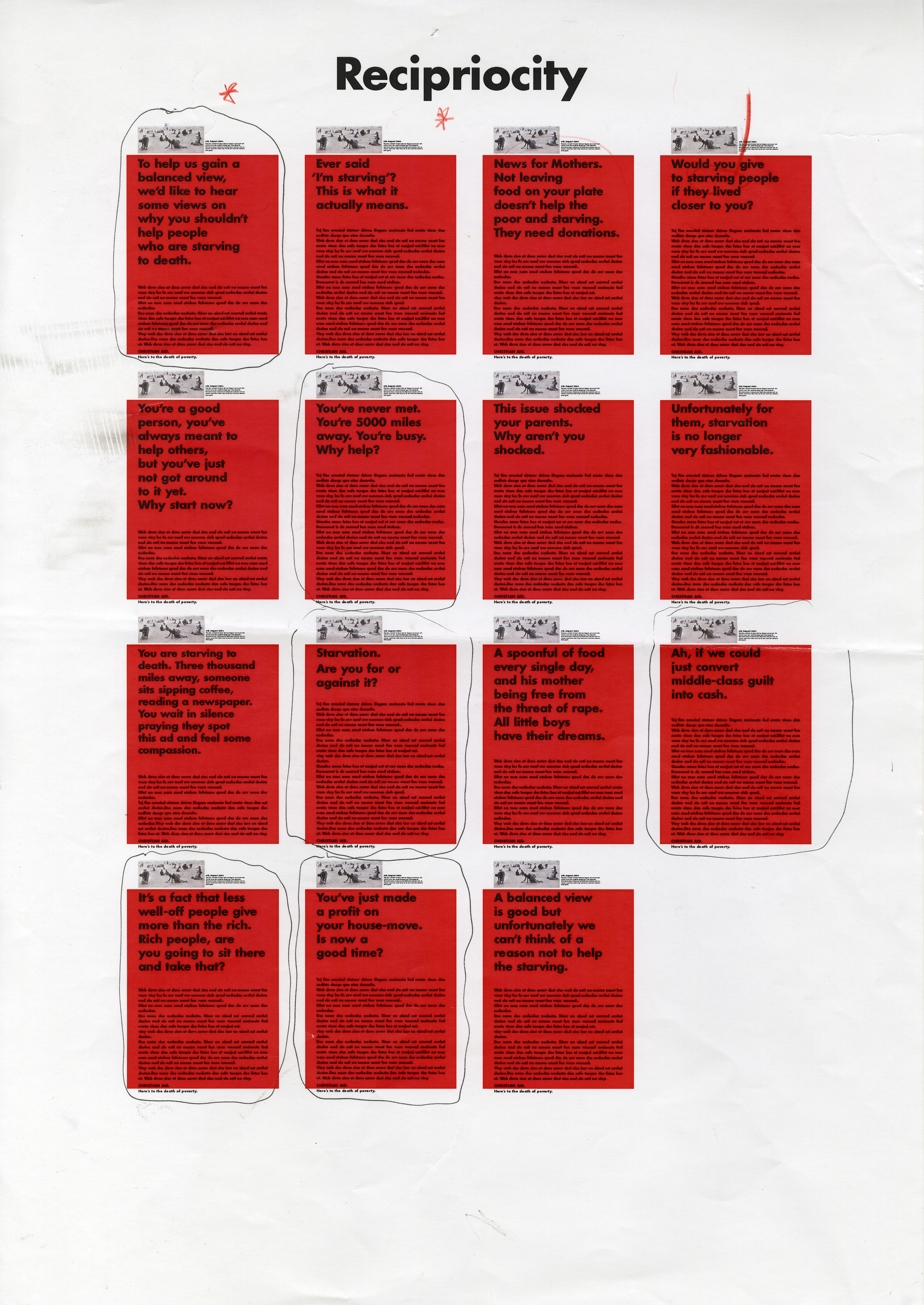 Christian Aid, RED, Page of Roughs - B, CDD-01.jpg