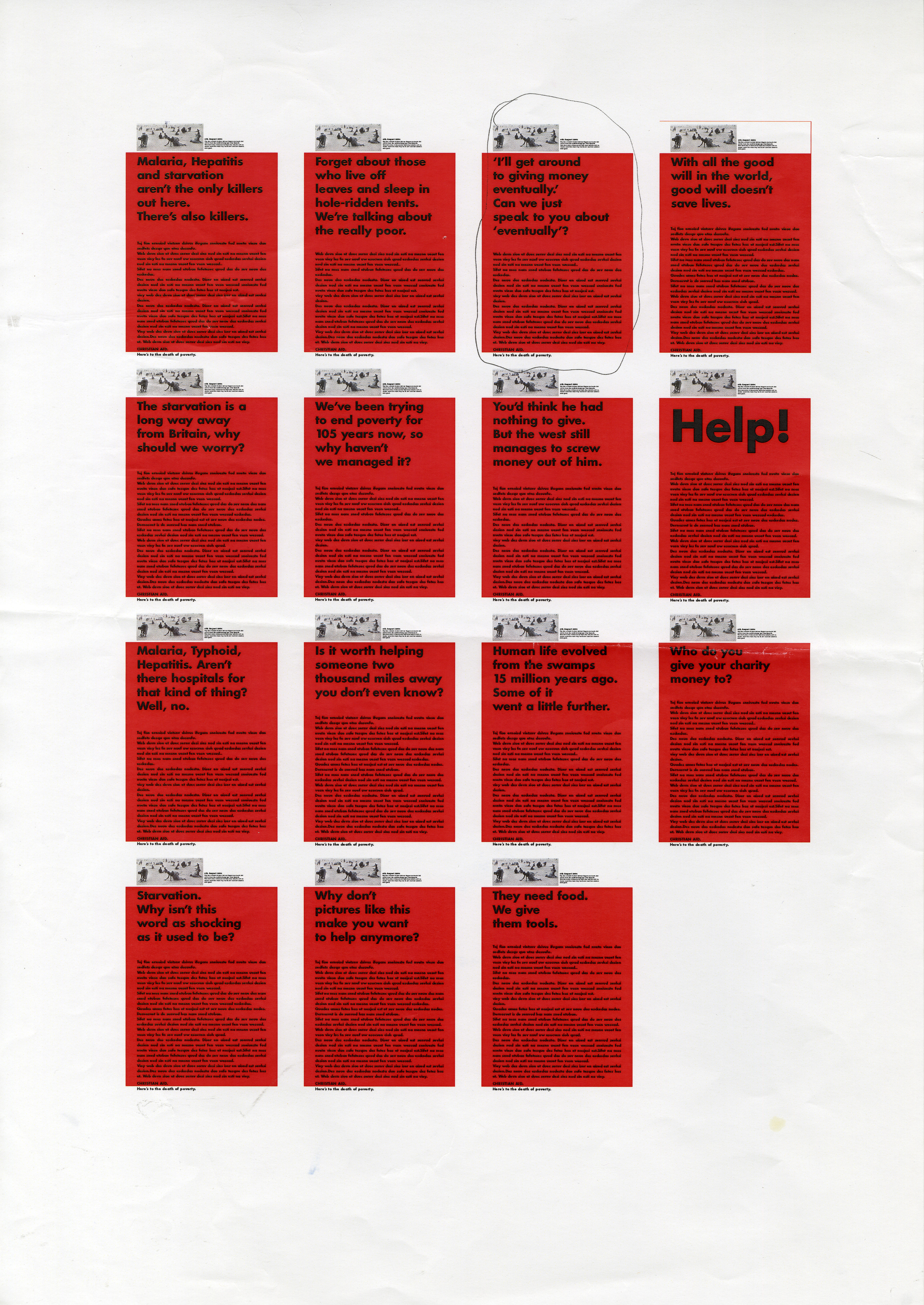 Christian Aid, RED, Page of roughs - C, CDD-01.jpg