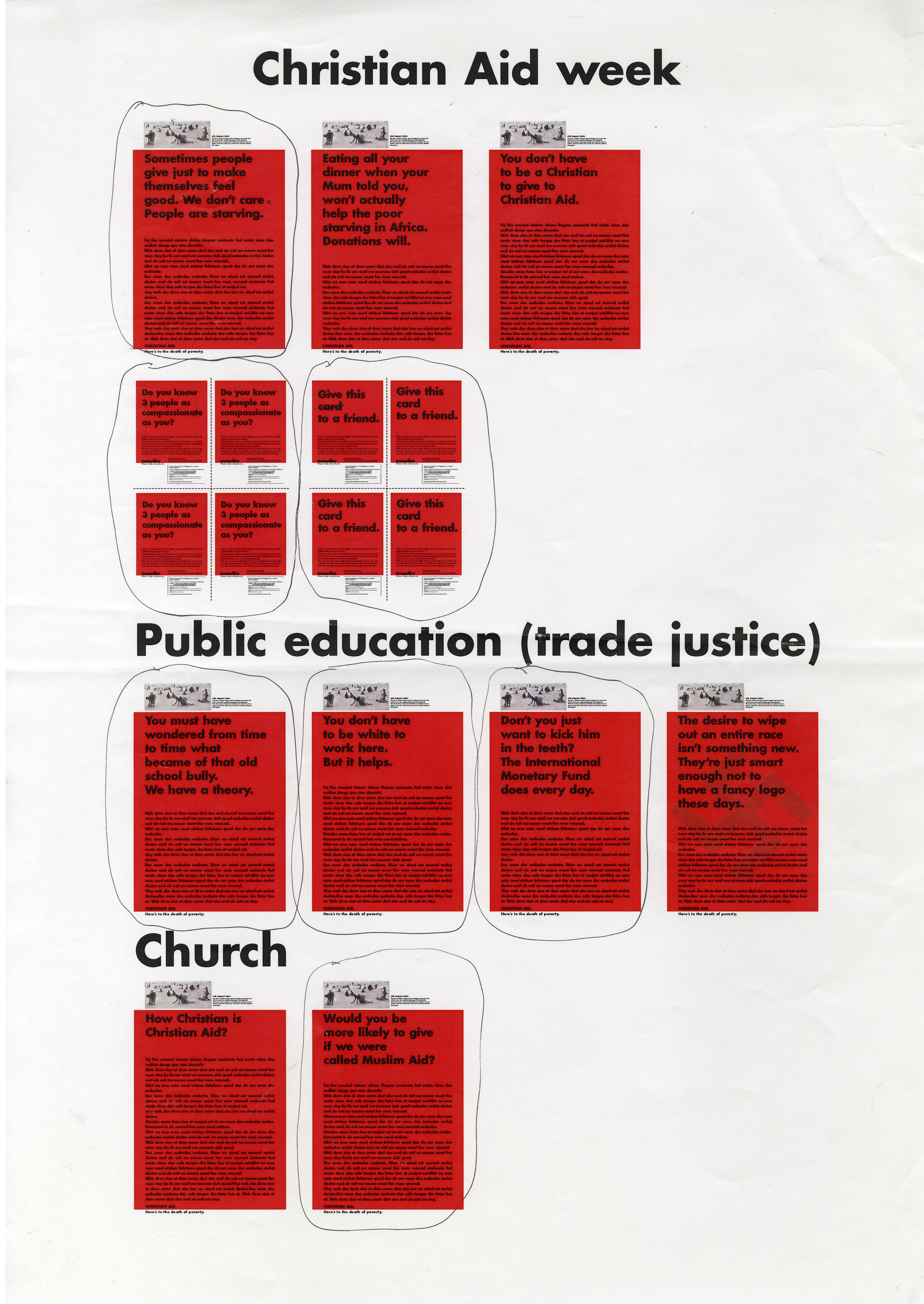 Christian Aid, RED, Sheet of roughs - A, CDD-01.jpg