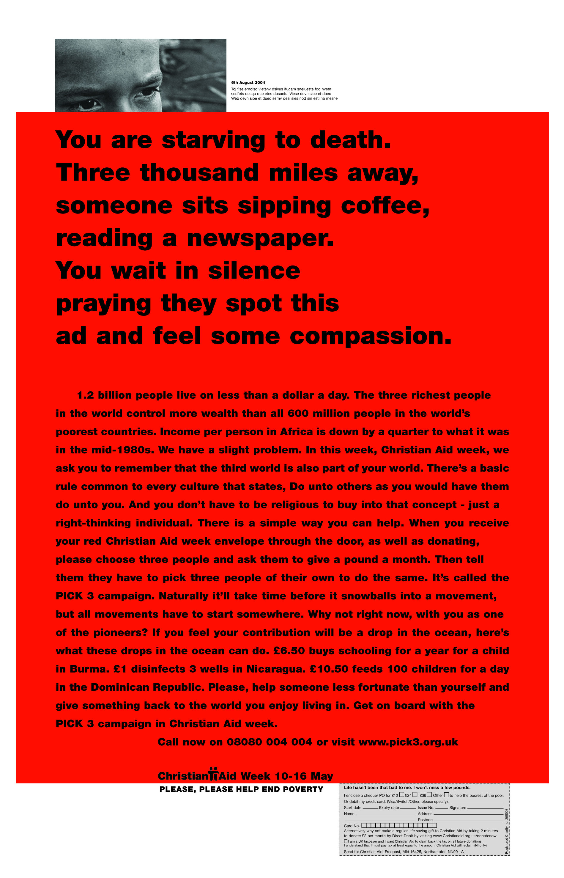 Christian Aid, RED, 'You are', CDD-01.jpg