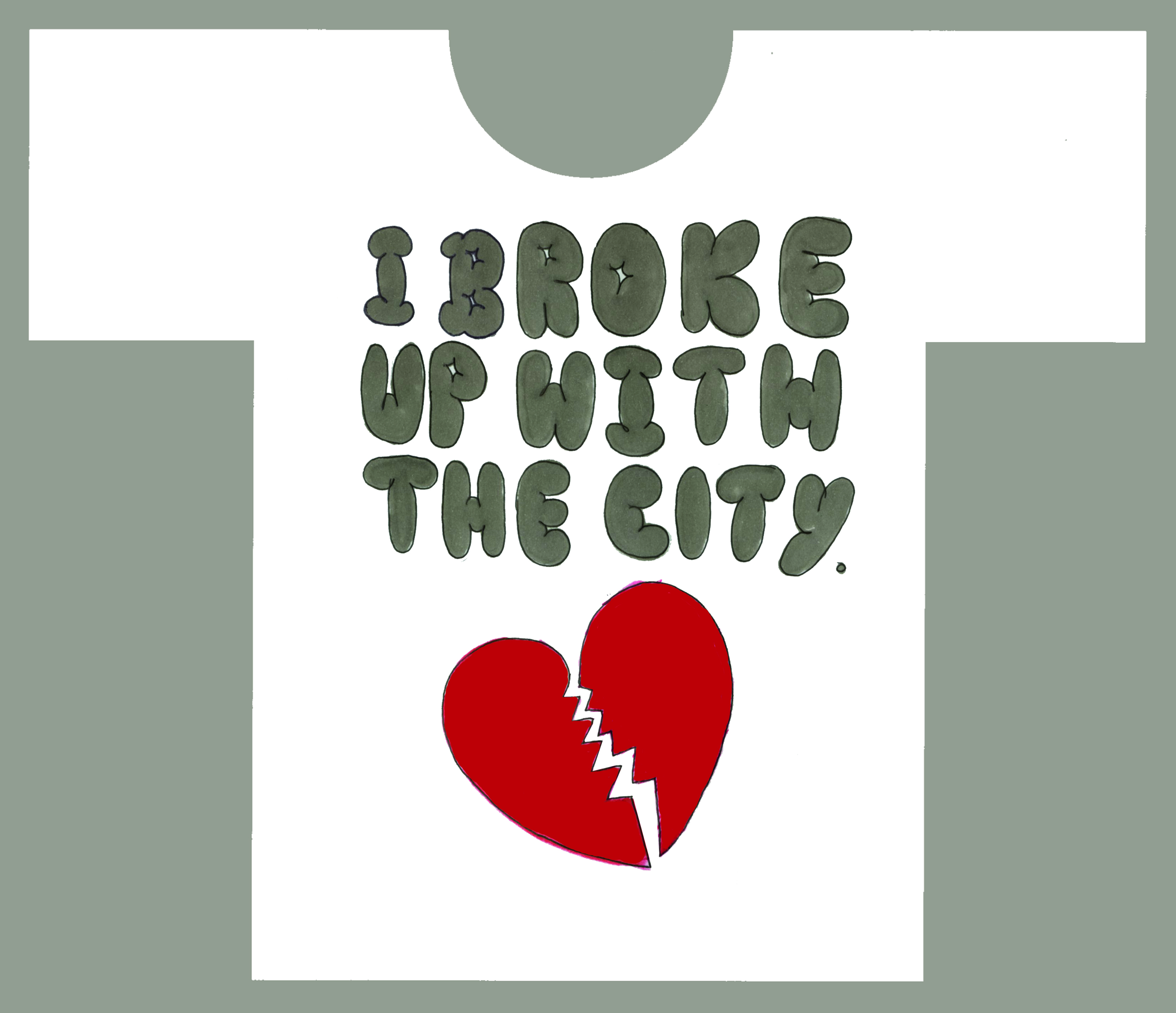 'I BROKE UP' Howies T-Shirt, DHM.jpg