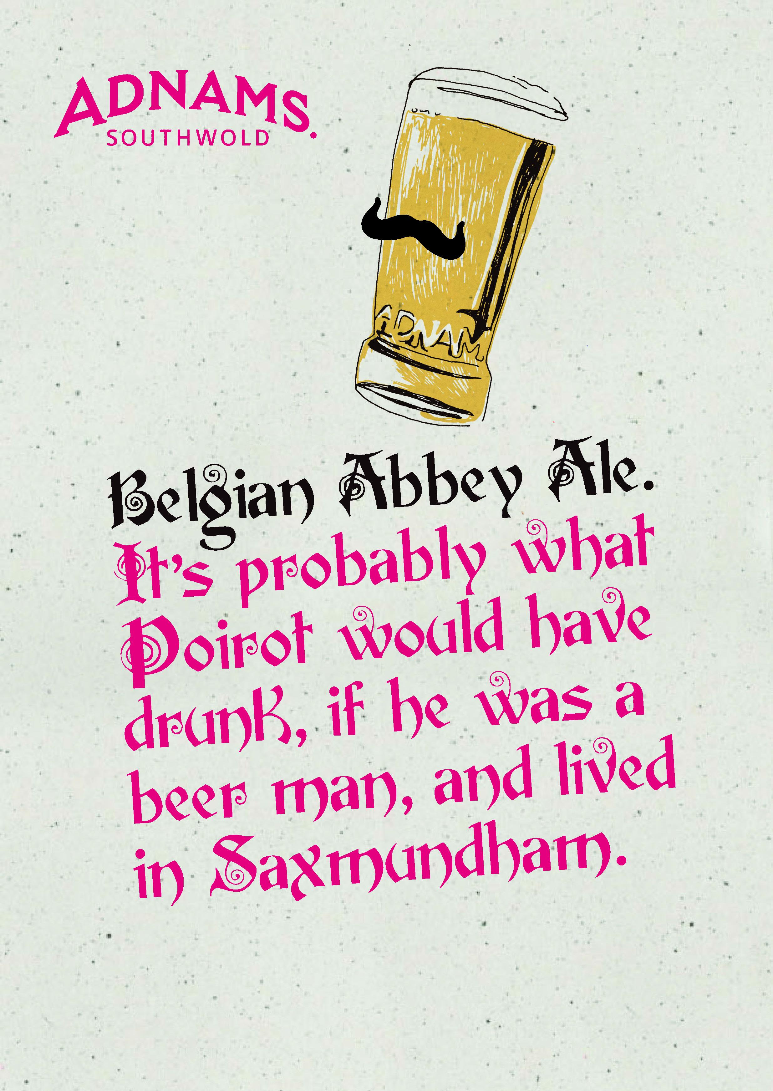 'It's Probably What' Belgian Abbey Ale, Adnams