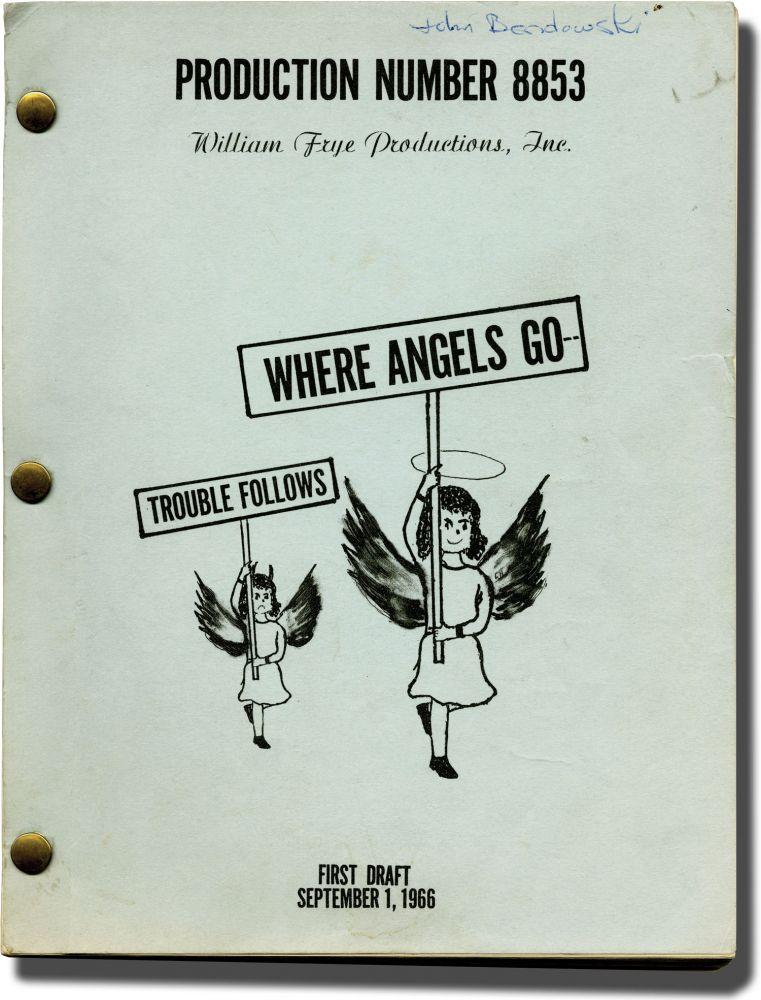 Jane Trahey, Where Angels Go', Script.jpg