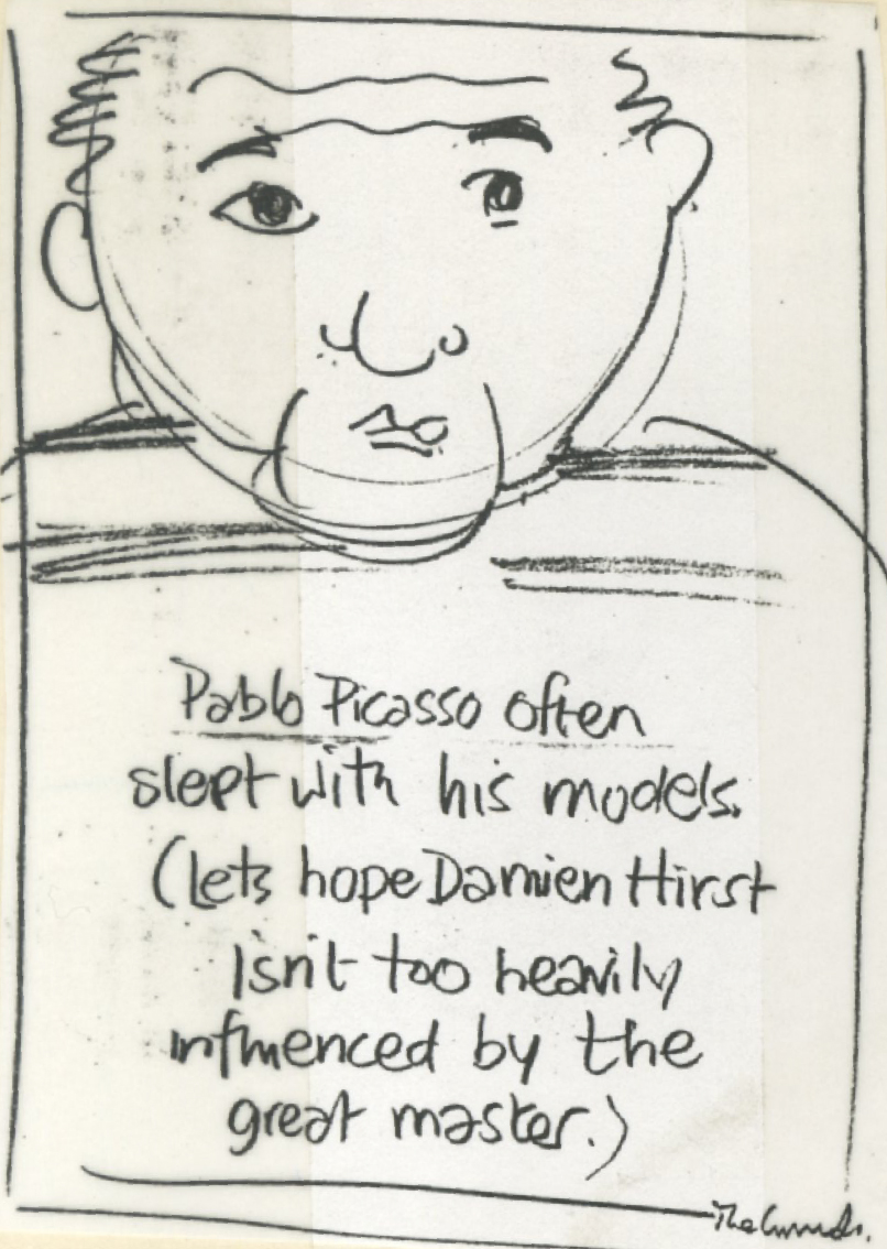 'Pablo Picasso' The Guardian, 'Leagas Delaney, Rough.jpg