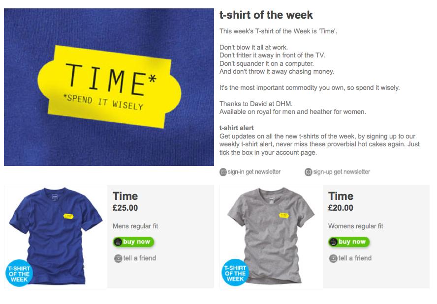 'TIME' Howies, T-Shirt.jpg