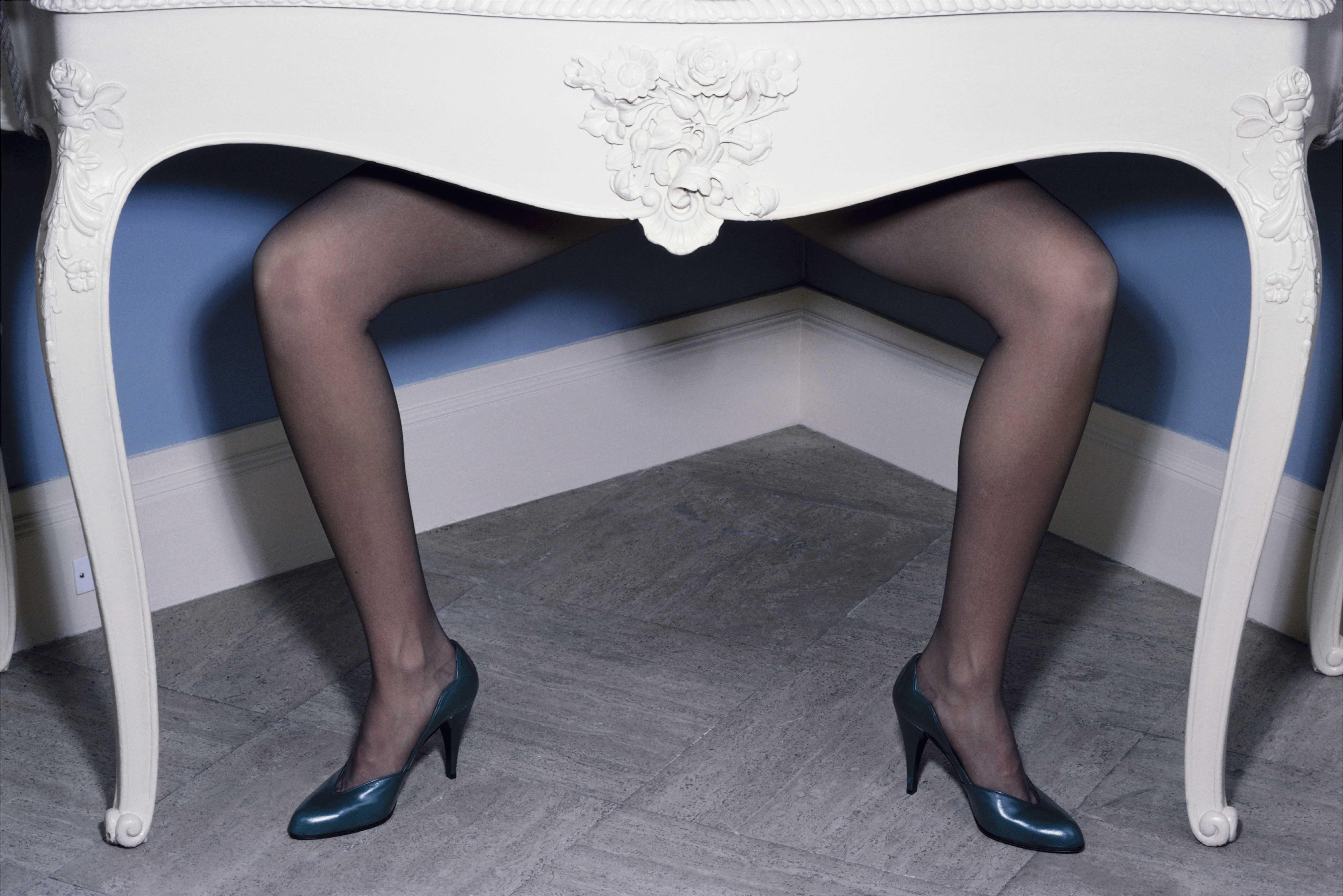 'Table Legs' Charles Jourdan, Guy Bourdain.jpg