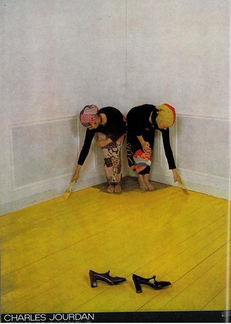 'Yellow Paint' Charles Jourdan, Guy Bourdain.jpg