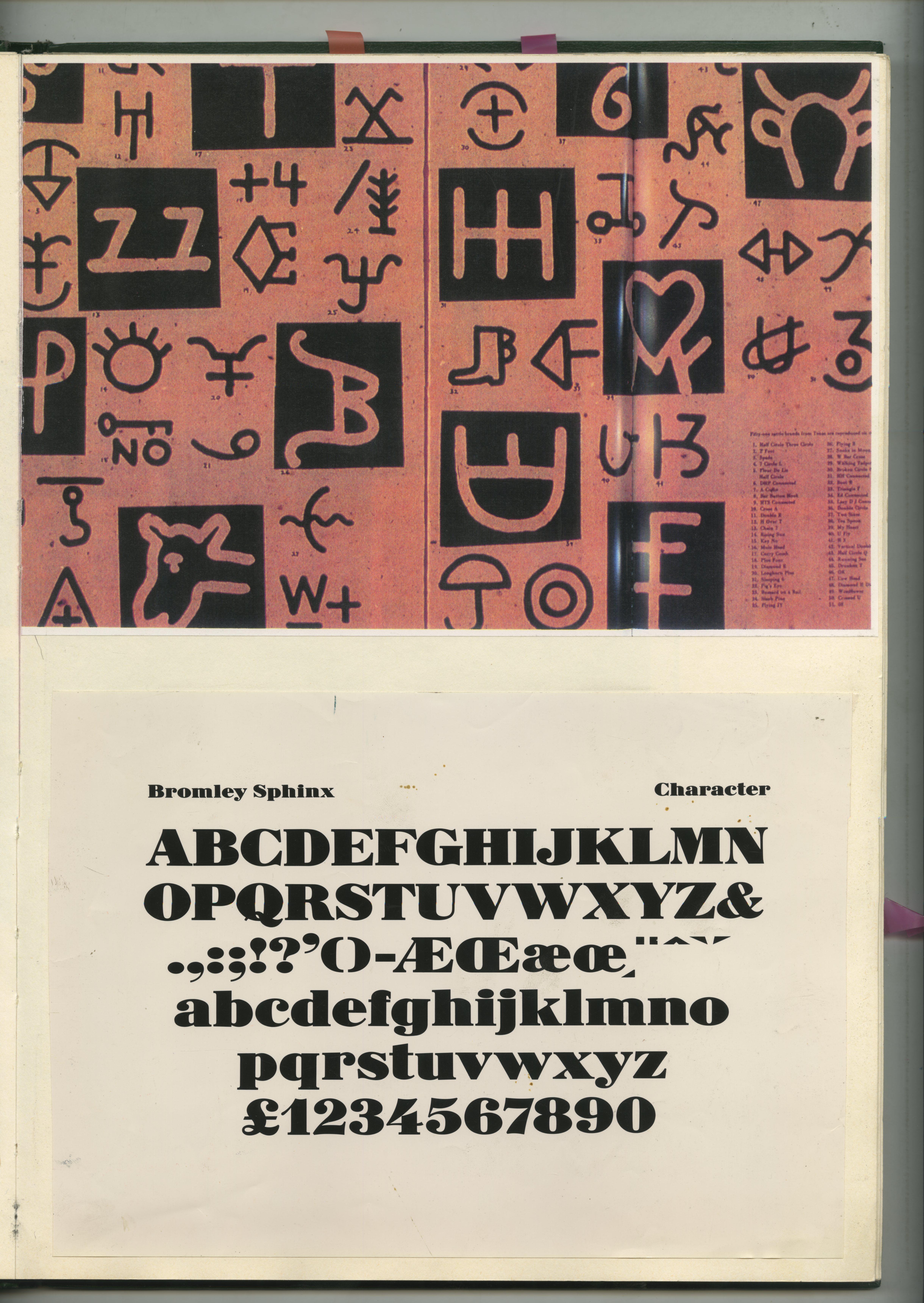 26. GREEN BOOKS: 'Type'