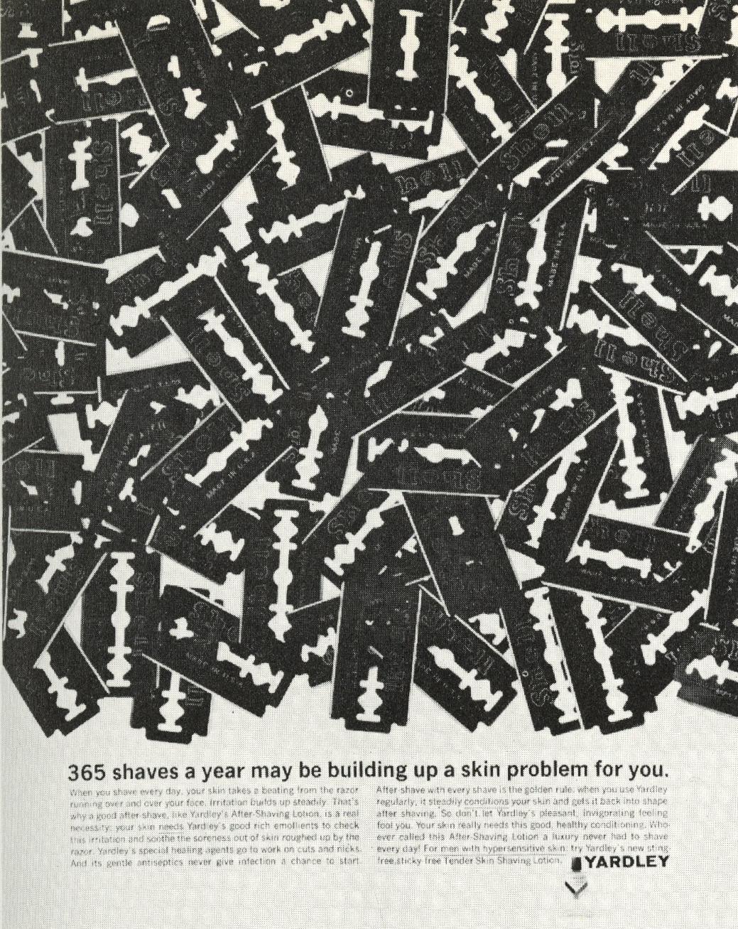 '365' Yardley, Mary Wells, DDB NY-01
