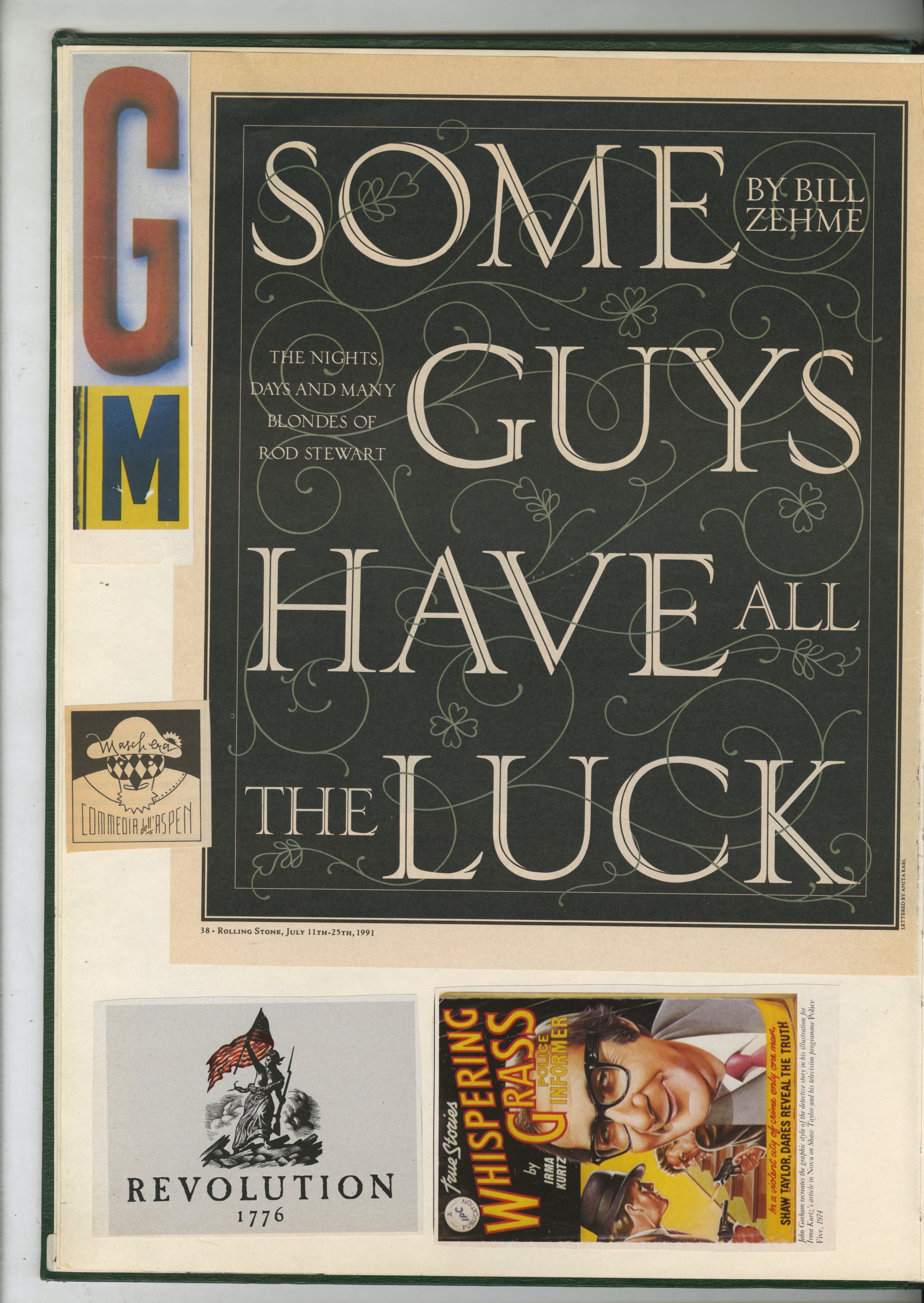 6. GREEN BOOKS: 'Type'