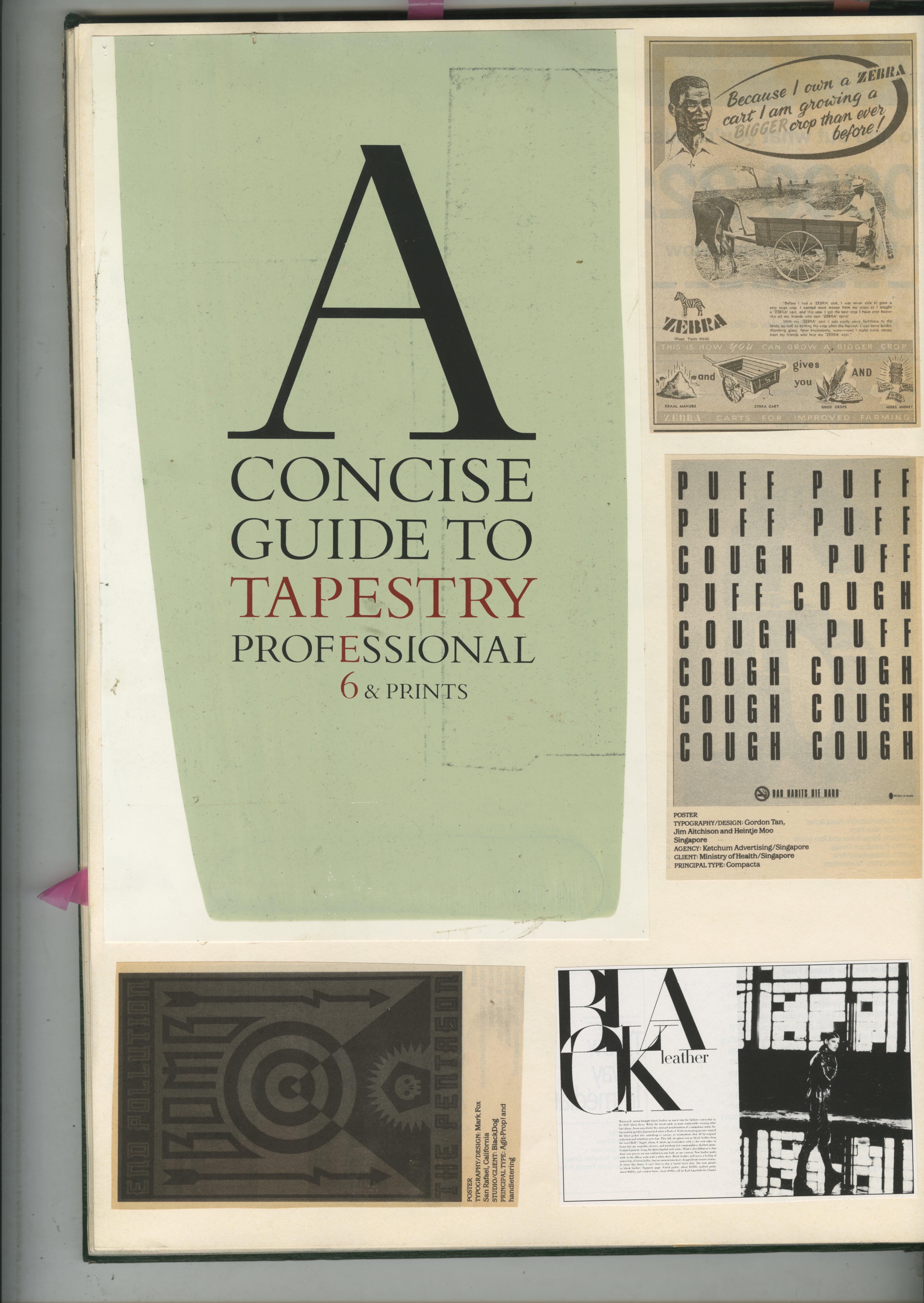 76. GREEN BOOKS: 'Type'