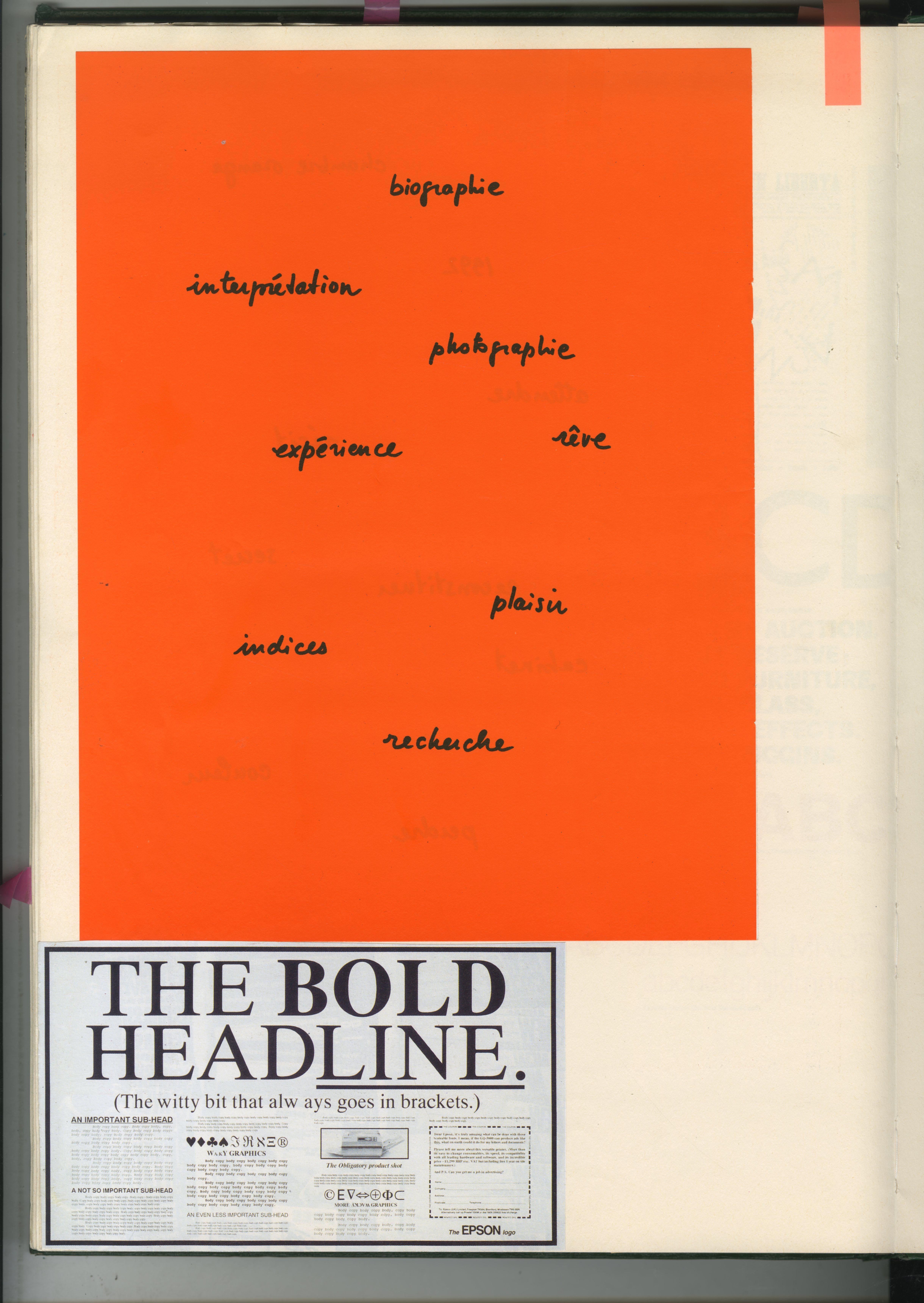 86. GREEN BOOKS: 'Type'