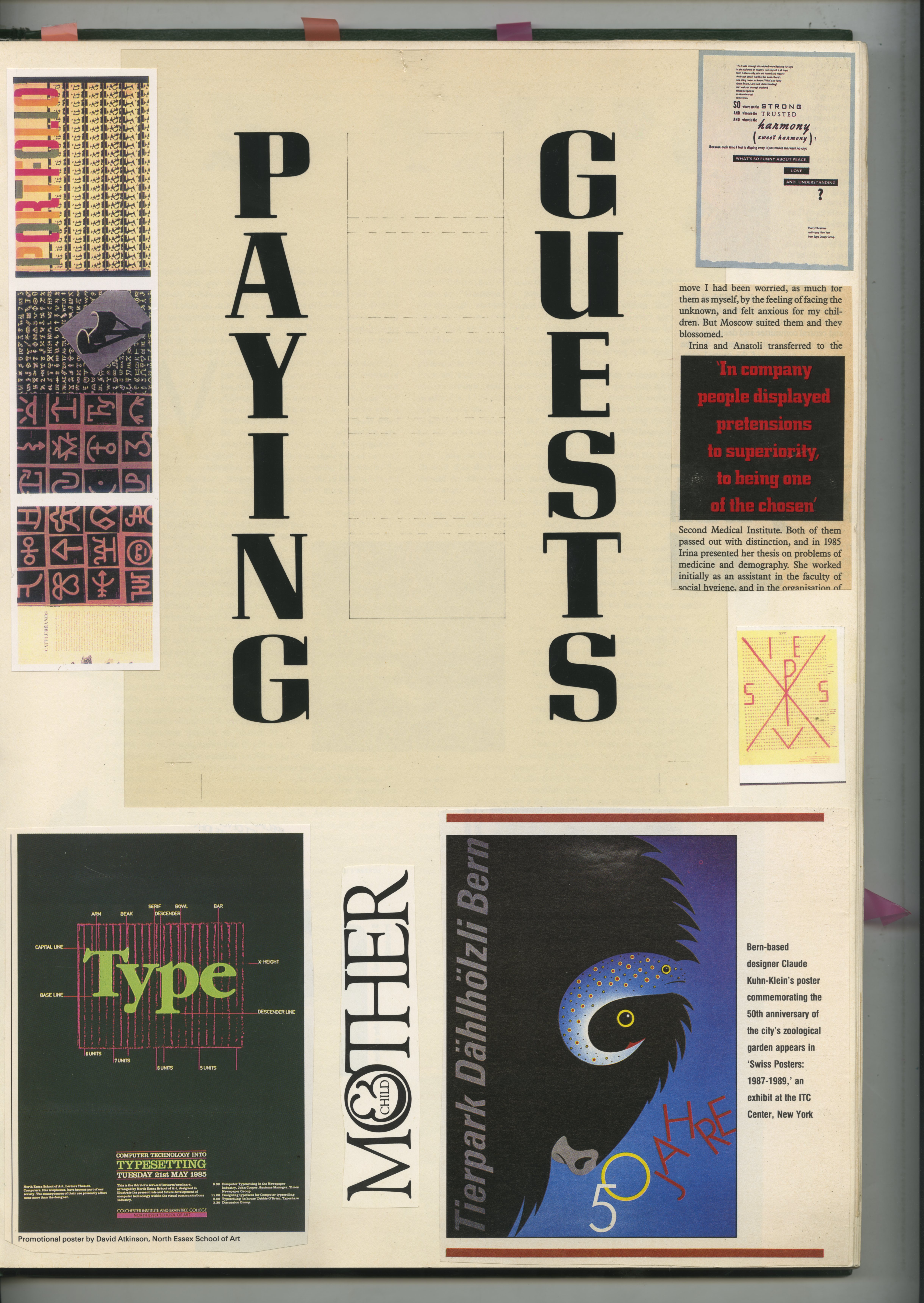 9. GREEN BOOKS: 'Type'