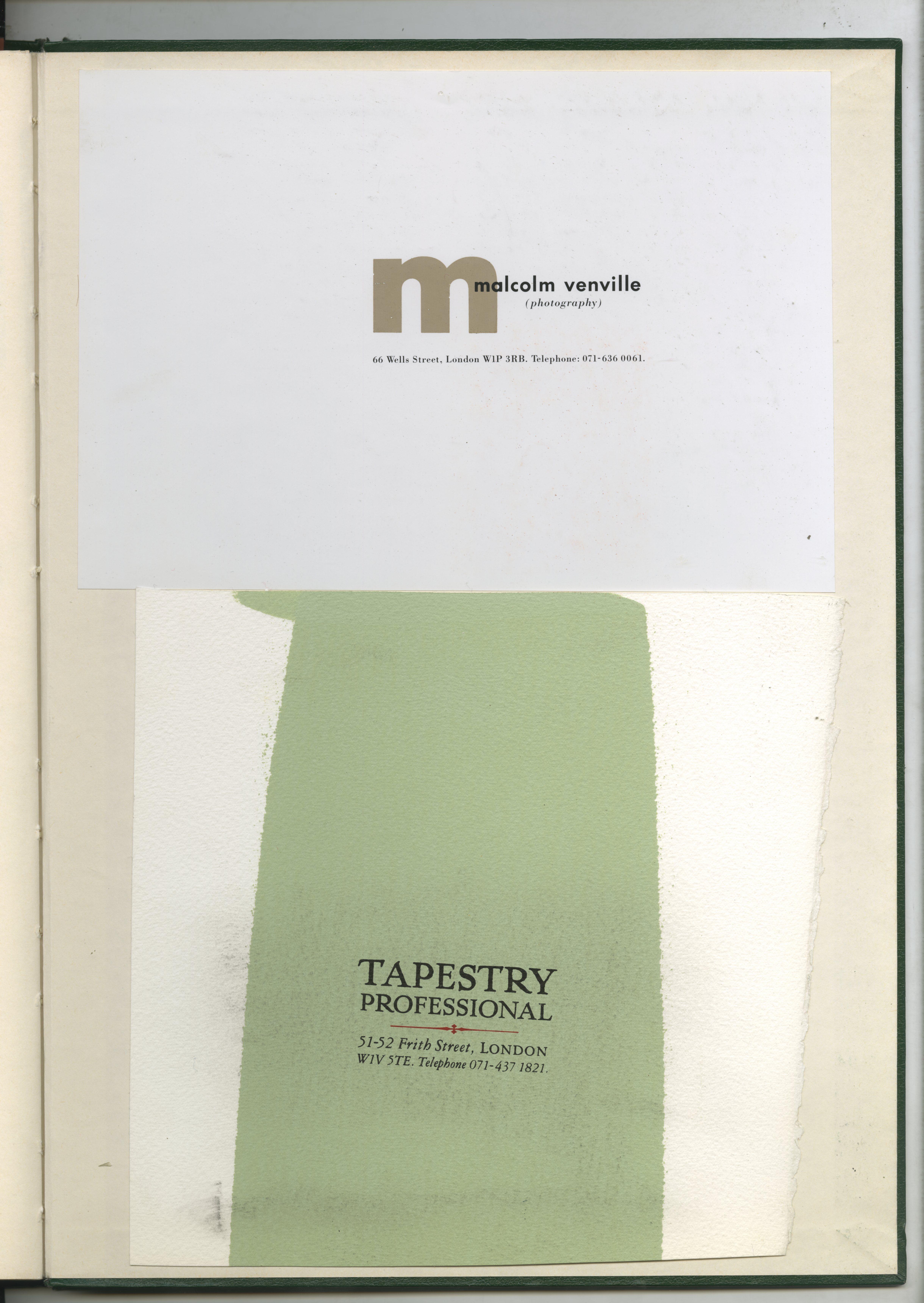 93. GREEN BOOKS: 'Type'