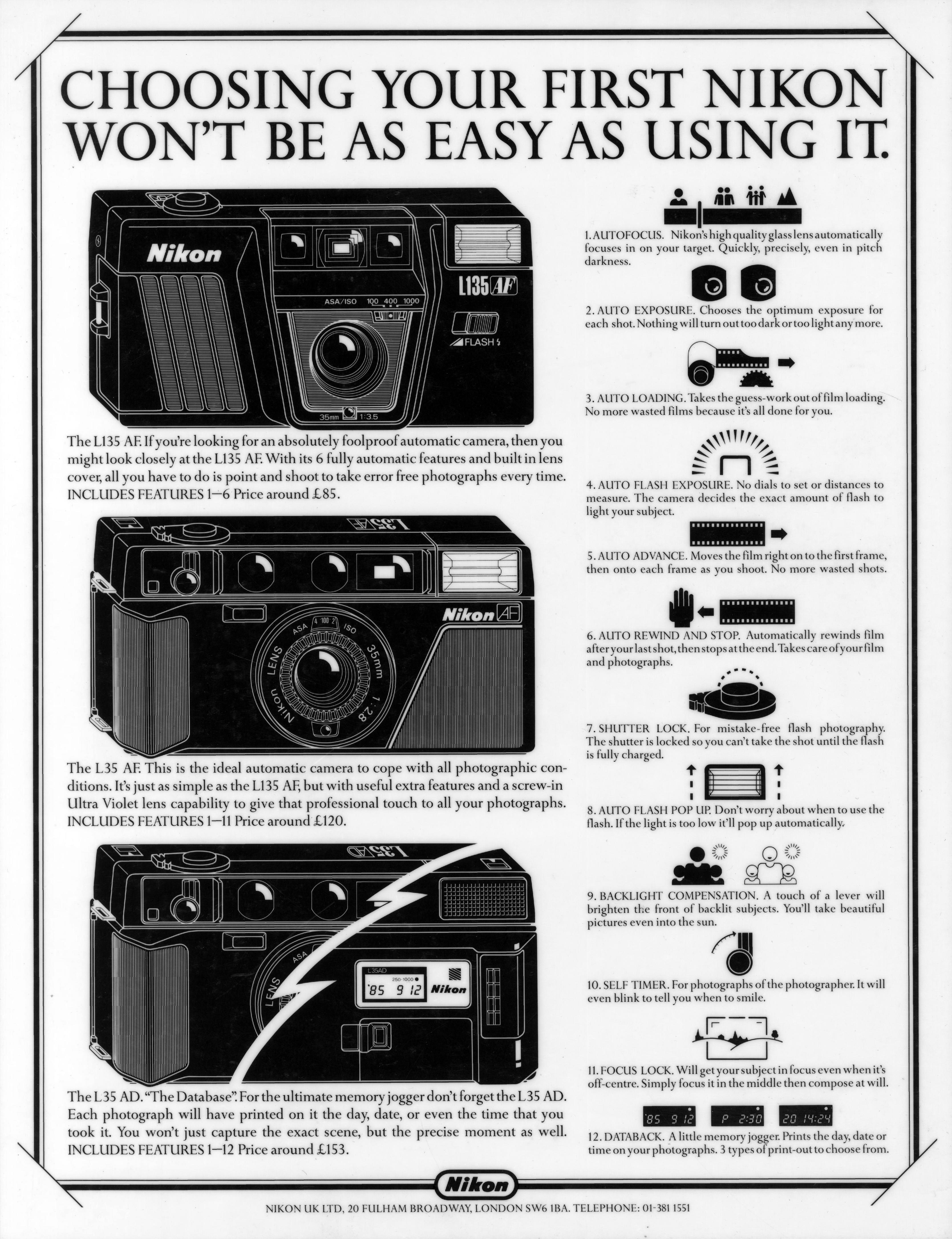 'Choosing' Nikon, Mark Reddy, HKR