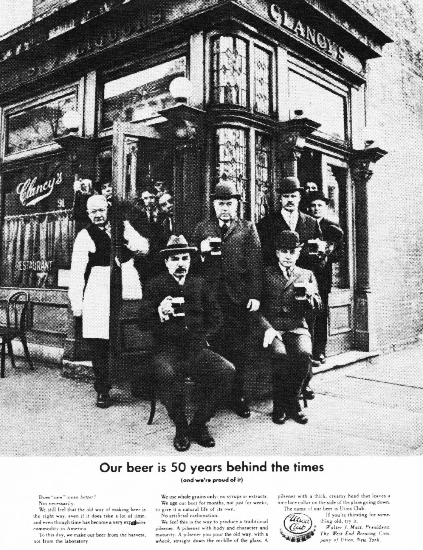 'Clancy's' Utica Club, Howard Zieff, DDB NY-01.jpg