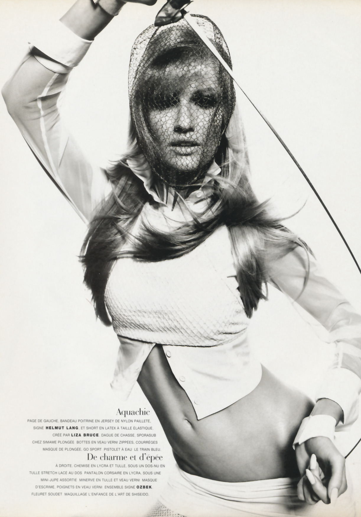 'Fencing Girl' Satoshi Saikusa