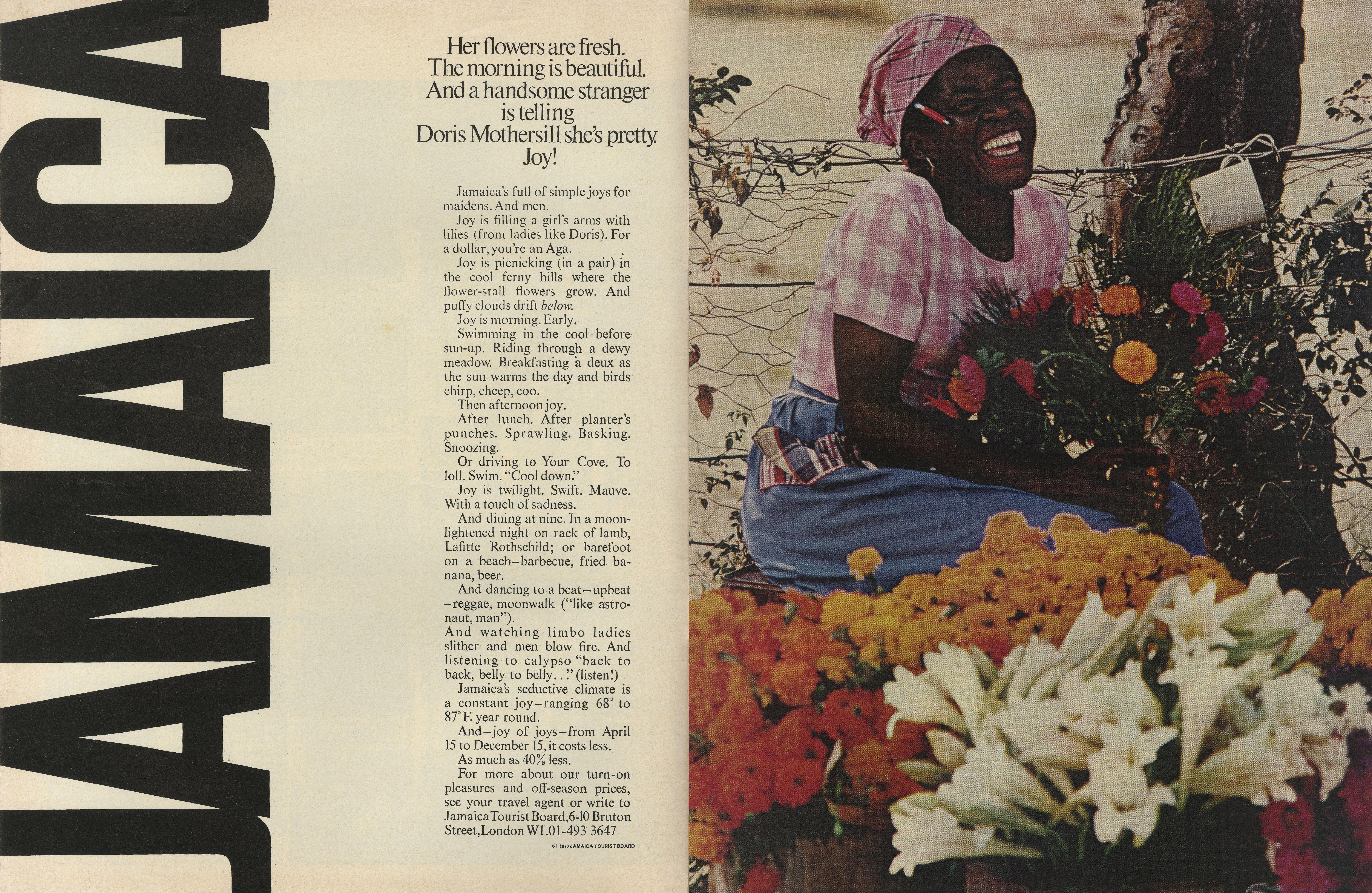 'Her Flowers Are' Jamaica, Robert Freson, DDB NY-01.jpg