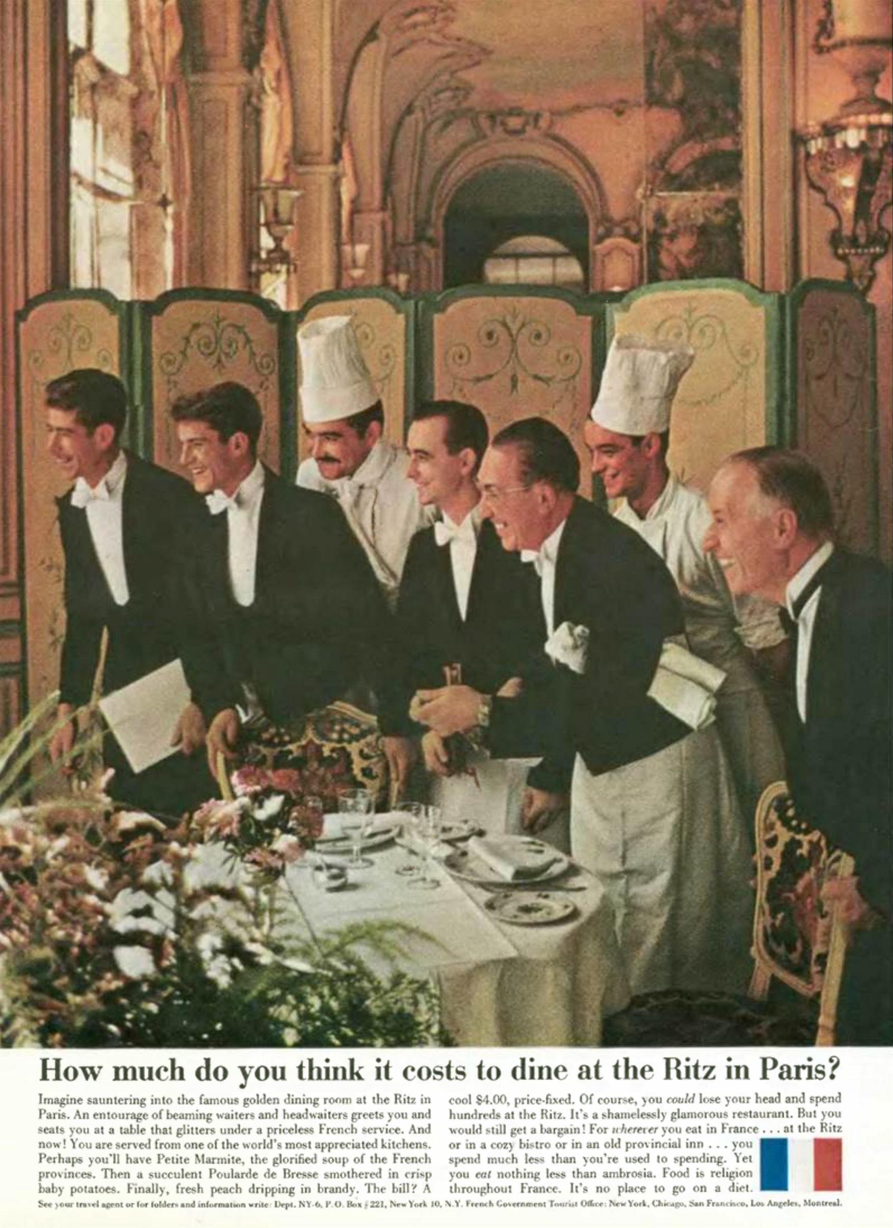 'How Much Do' French Tourist Board, DDB NY, 1960's.png