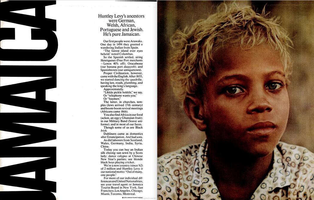 'Huntley Levy's Ancestors' Jamaica, Robert Freson, DDB 2.png