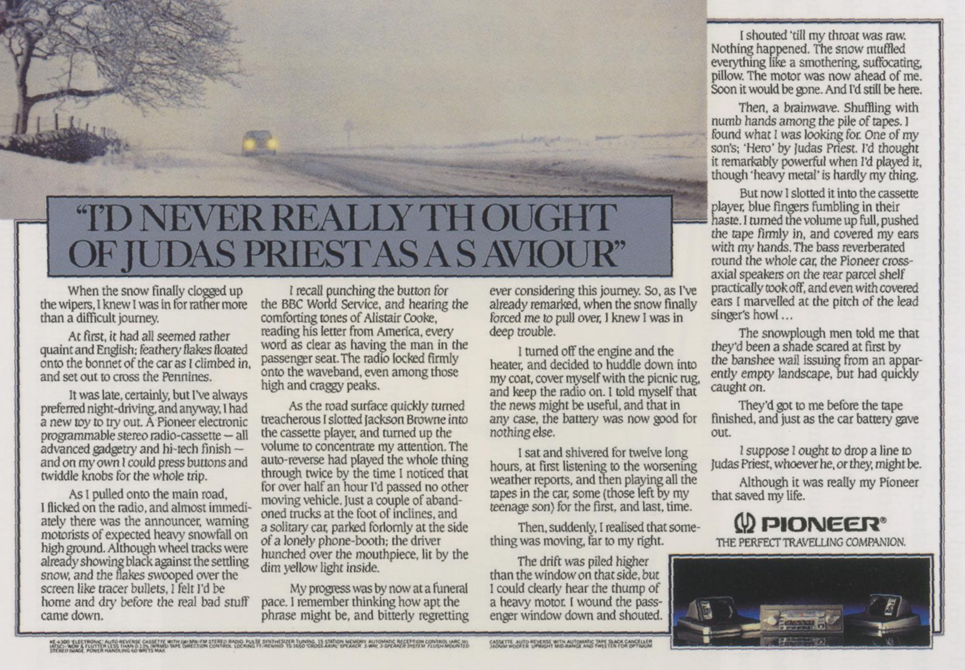 'I'd Never' Panasonic, Neil French, HKR-01