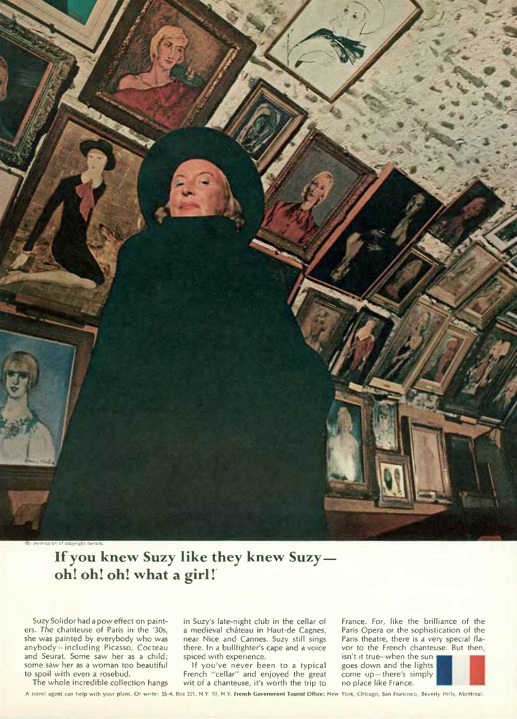 'If You Knew Suzie' French Tourist Board, DDB NY, 1960's.png