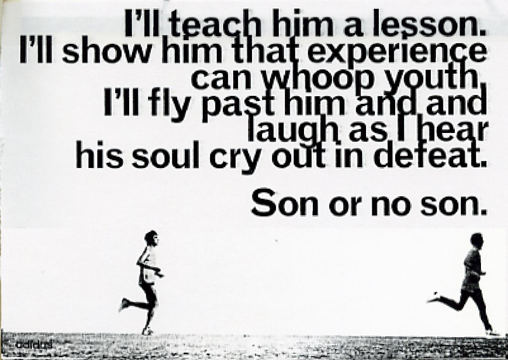 'I'll Teach Him' Adidas, Running, Rough, Leagas Delaney.jpg