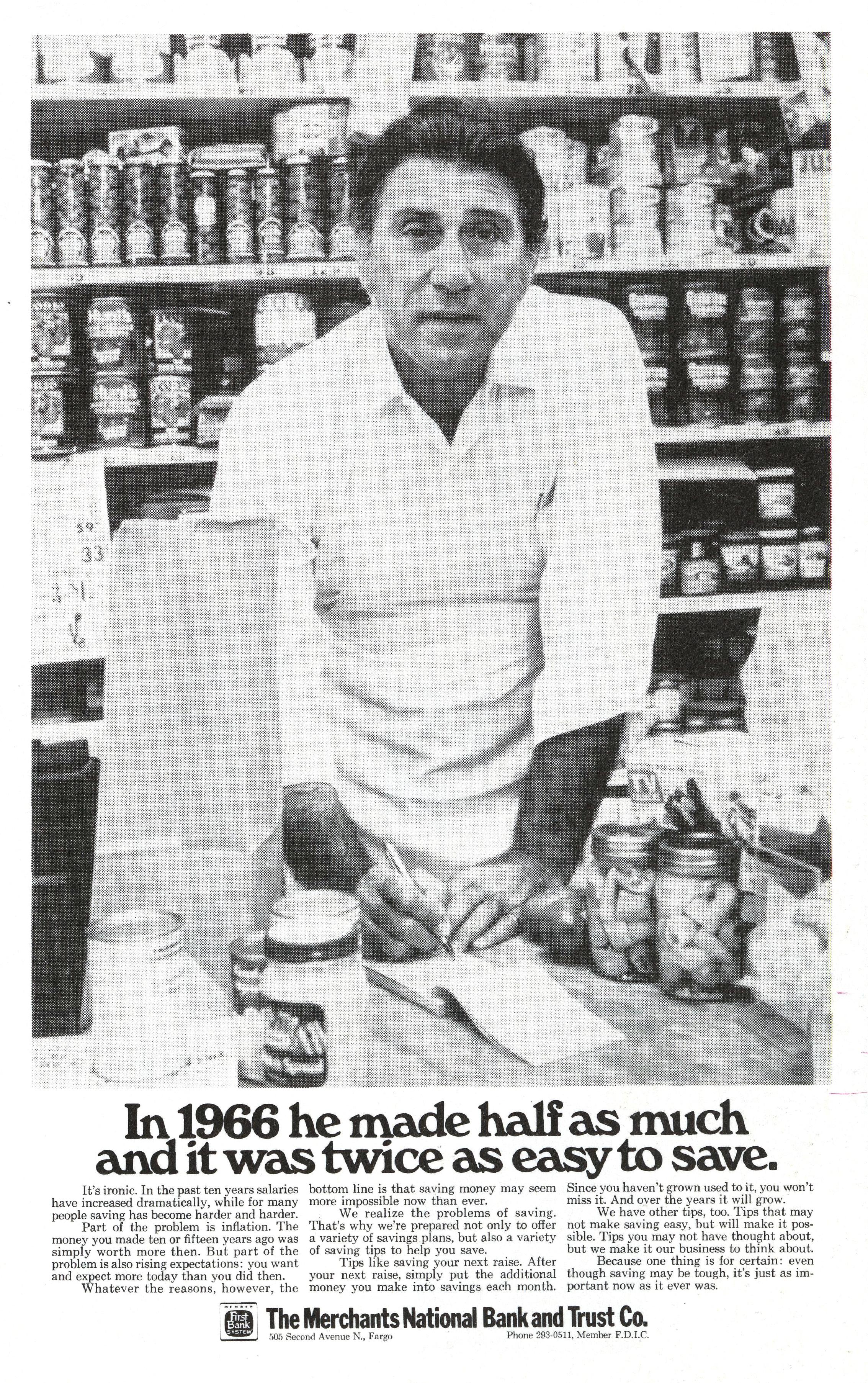 'In 1966' The Merchants National,Tom McElligott, Bozell*.jpg