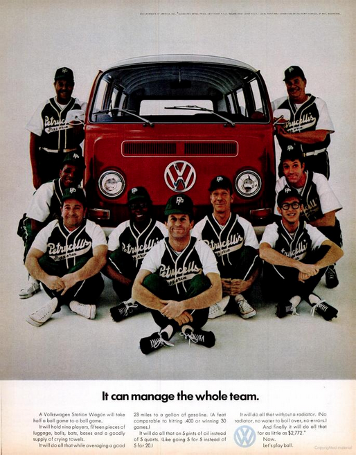 'It Can Manage', Volkswagen, DDB NY.png
