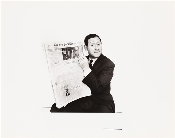 'Jack Gilford' Daily News, Howard Zieff.jpg
