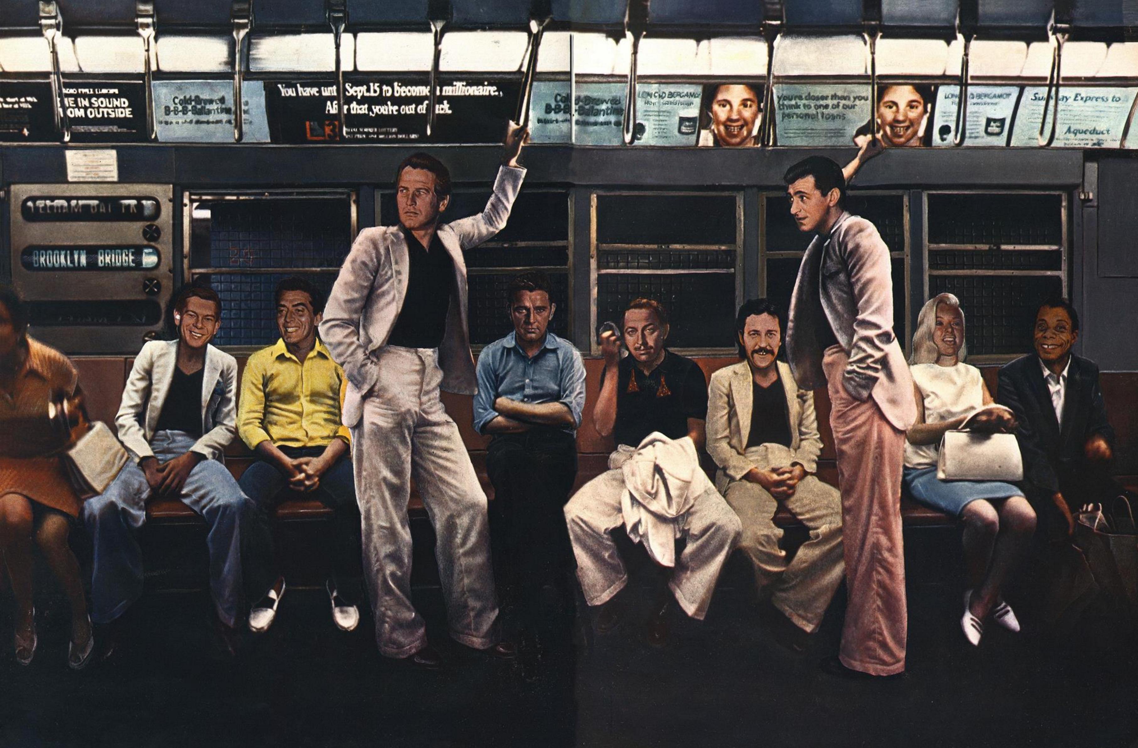 Jean Paul Goude 'Fame Train', Esquire.png