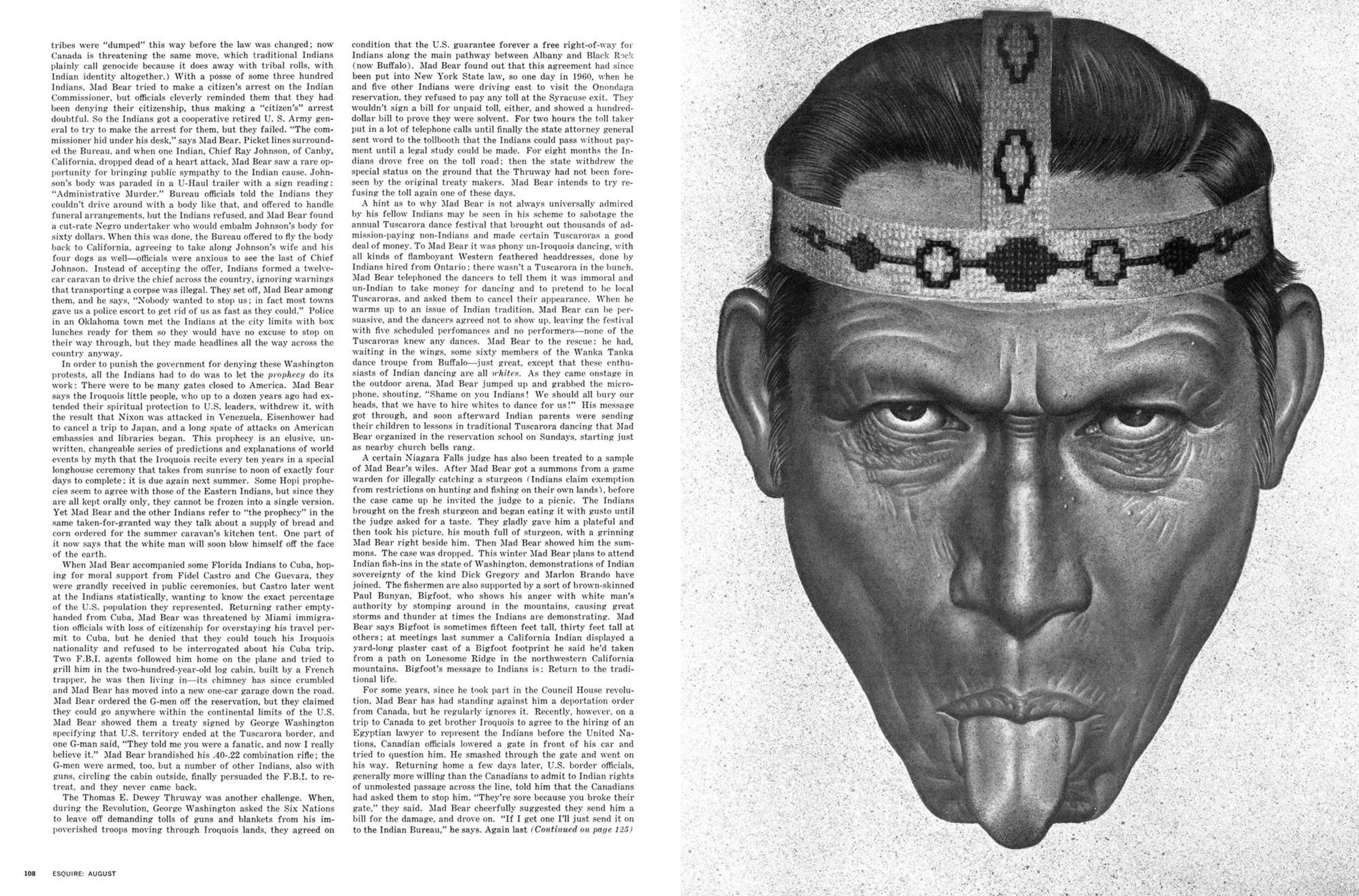 Jean Paul Goude 'Indian', Esquire.png