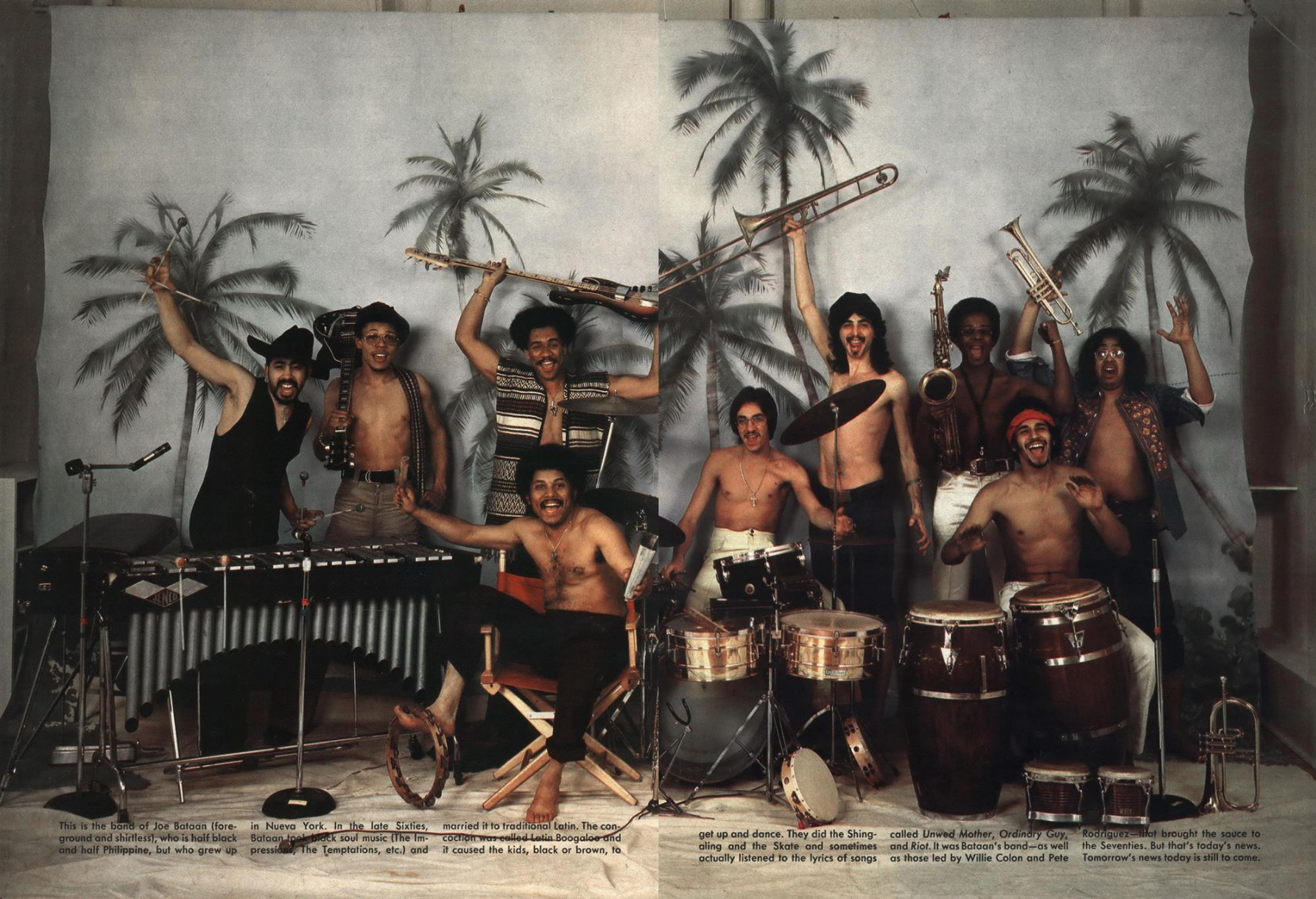 Jean Paul Goude 'Tito Puente Band 2', Esquire.png