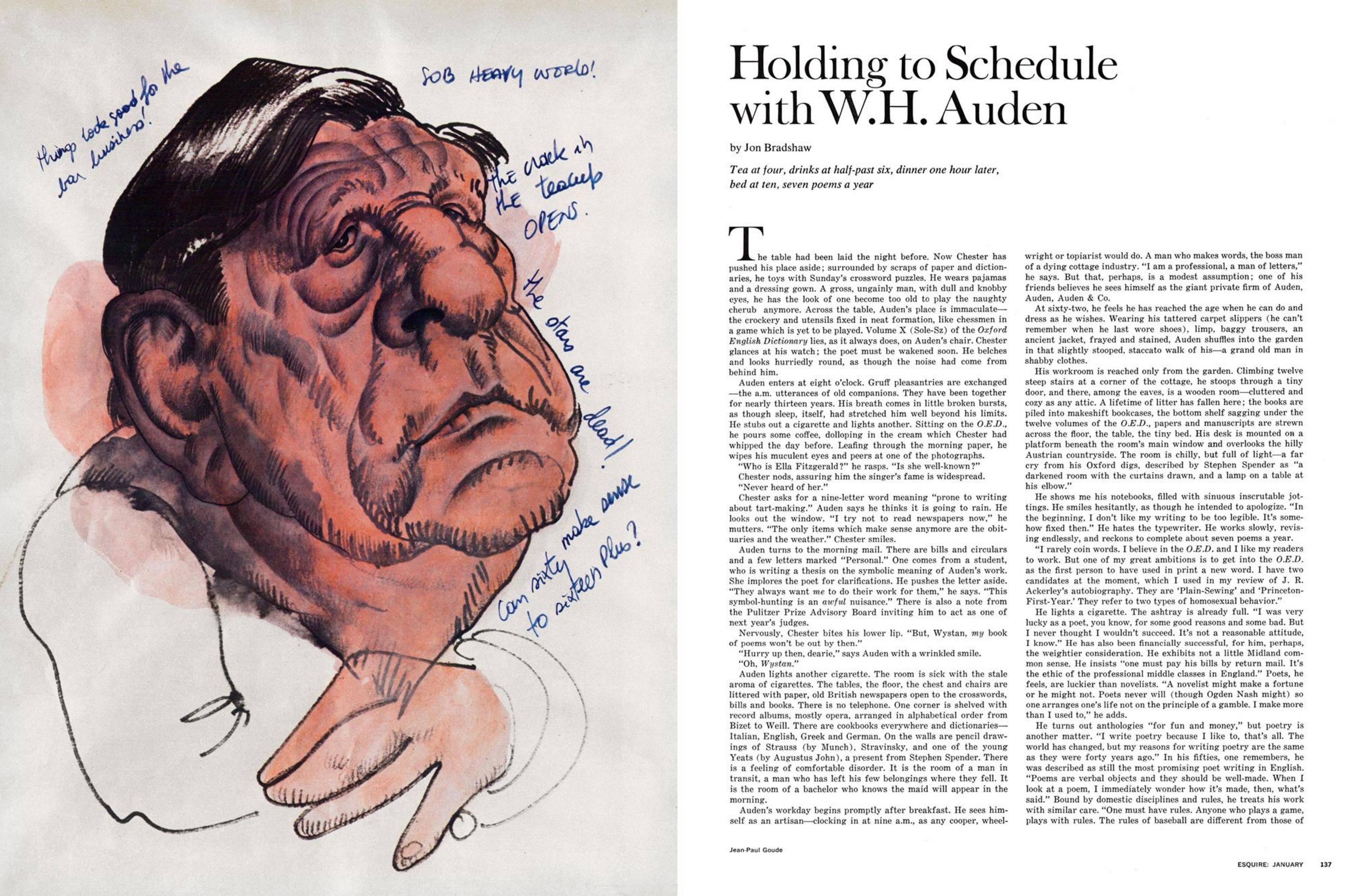 Jean Paul Goude 'W. H. Auden', Esquire.png