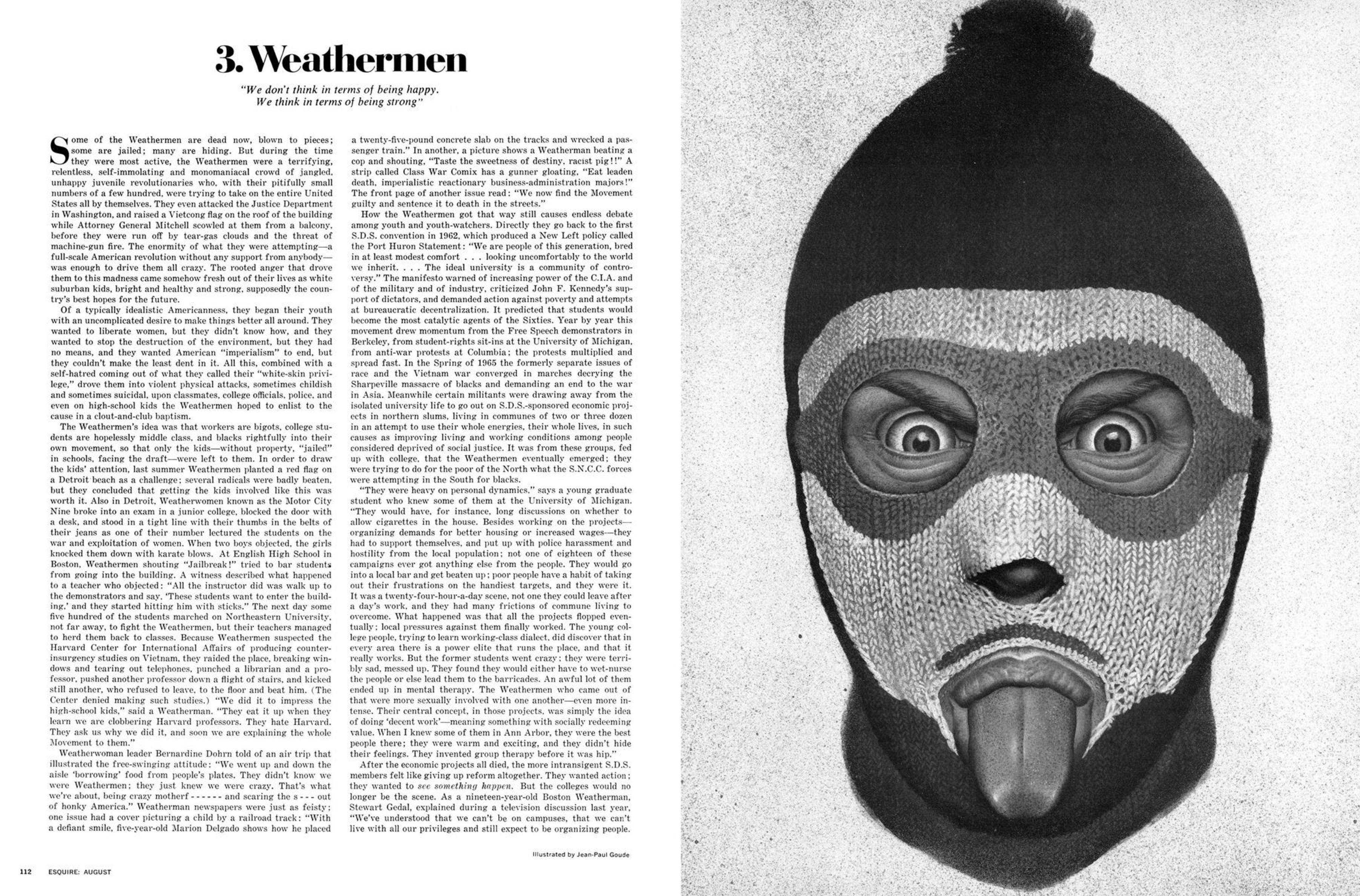 Jean Paul Goude 'Weathermen', Esquire.png